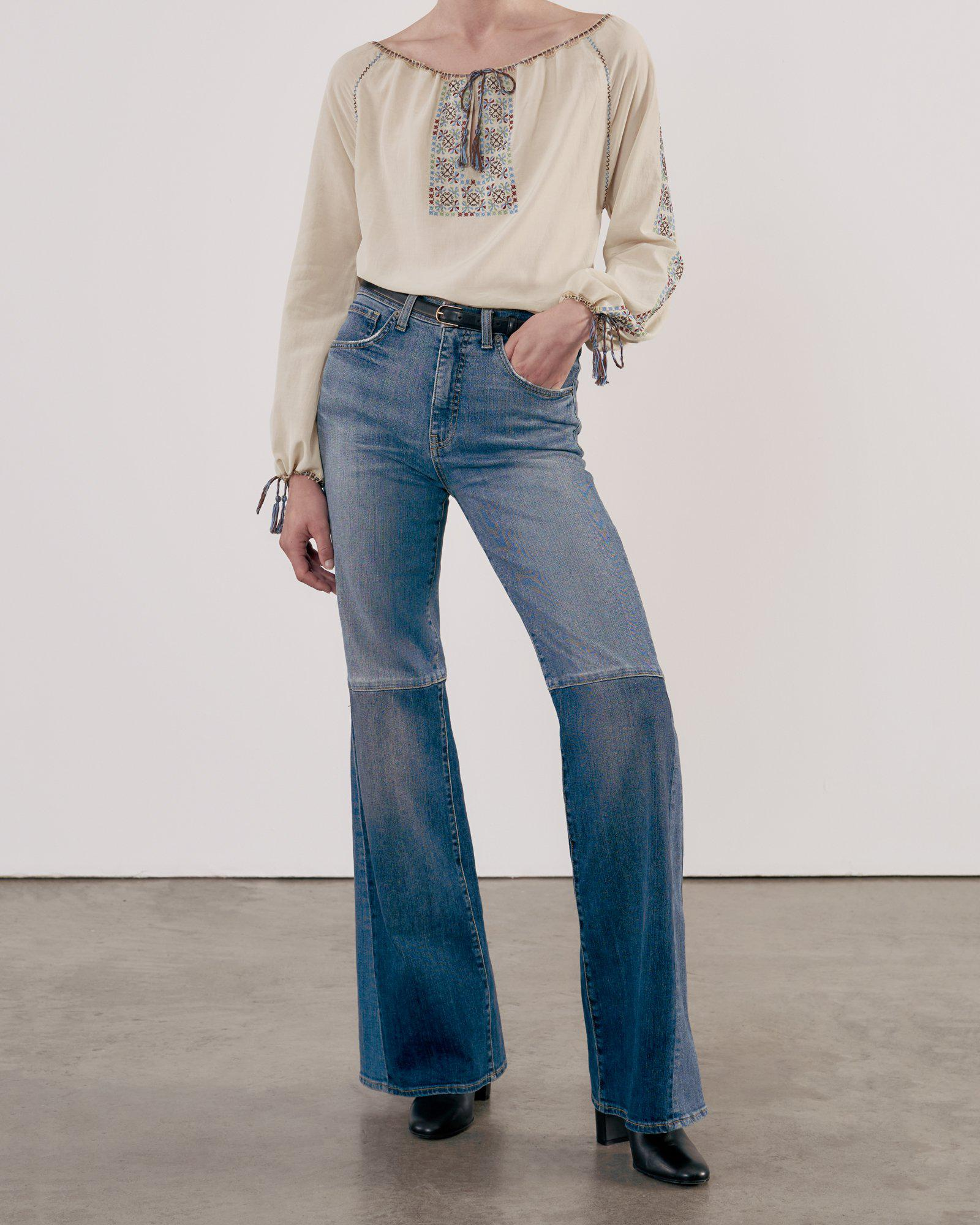 DIANDRA EMBROIDERED BLOUSE