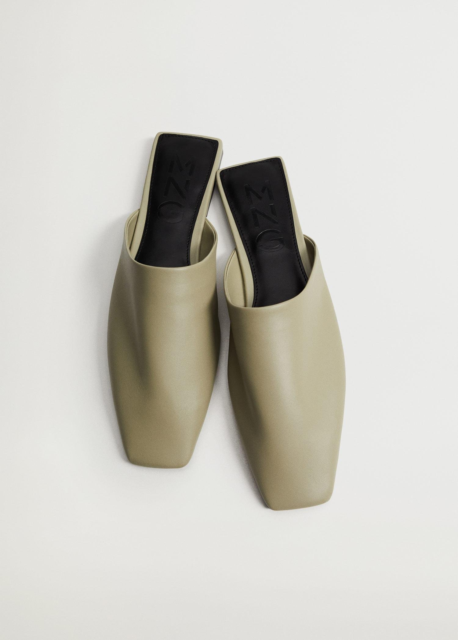 sling back leather babouches 3
