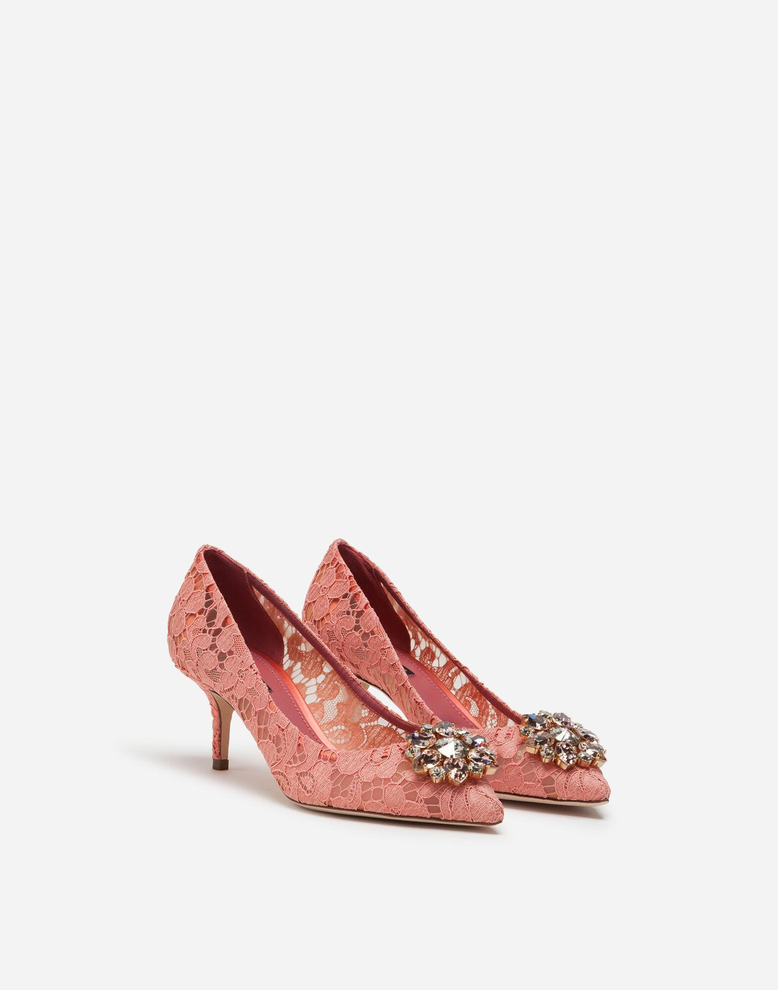 Taormina lace pumps with crystals 1