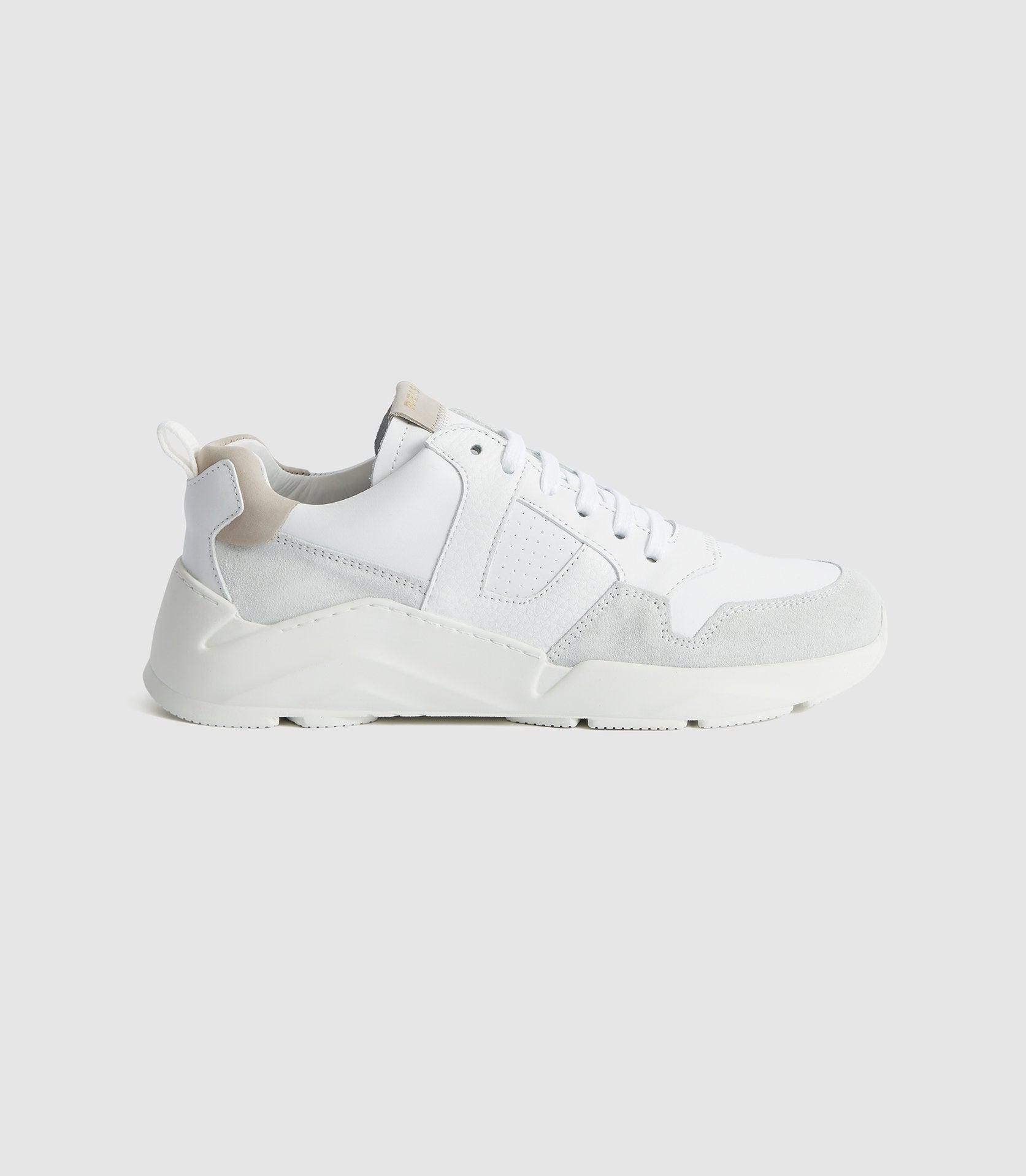 SHELTON - LEATHER TRAINERS