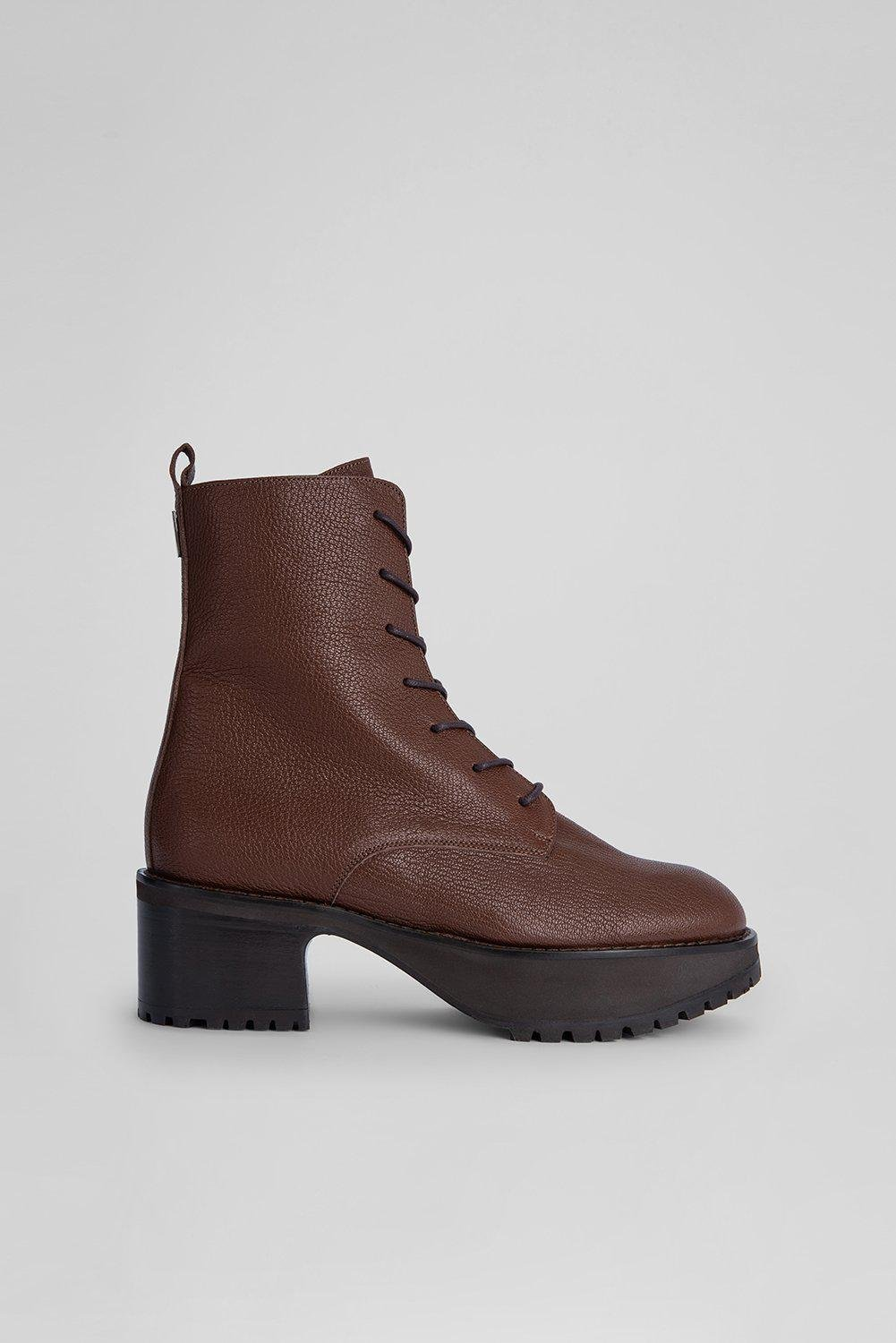 Cobain Tabac Grained Leather