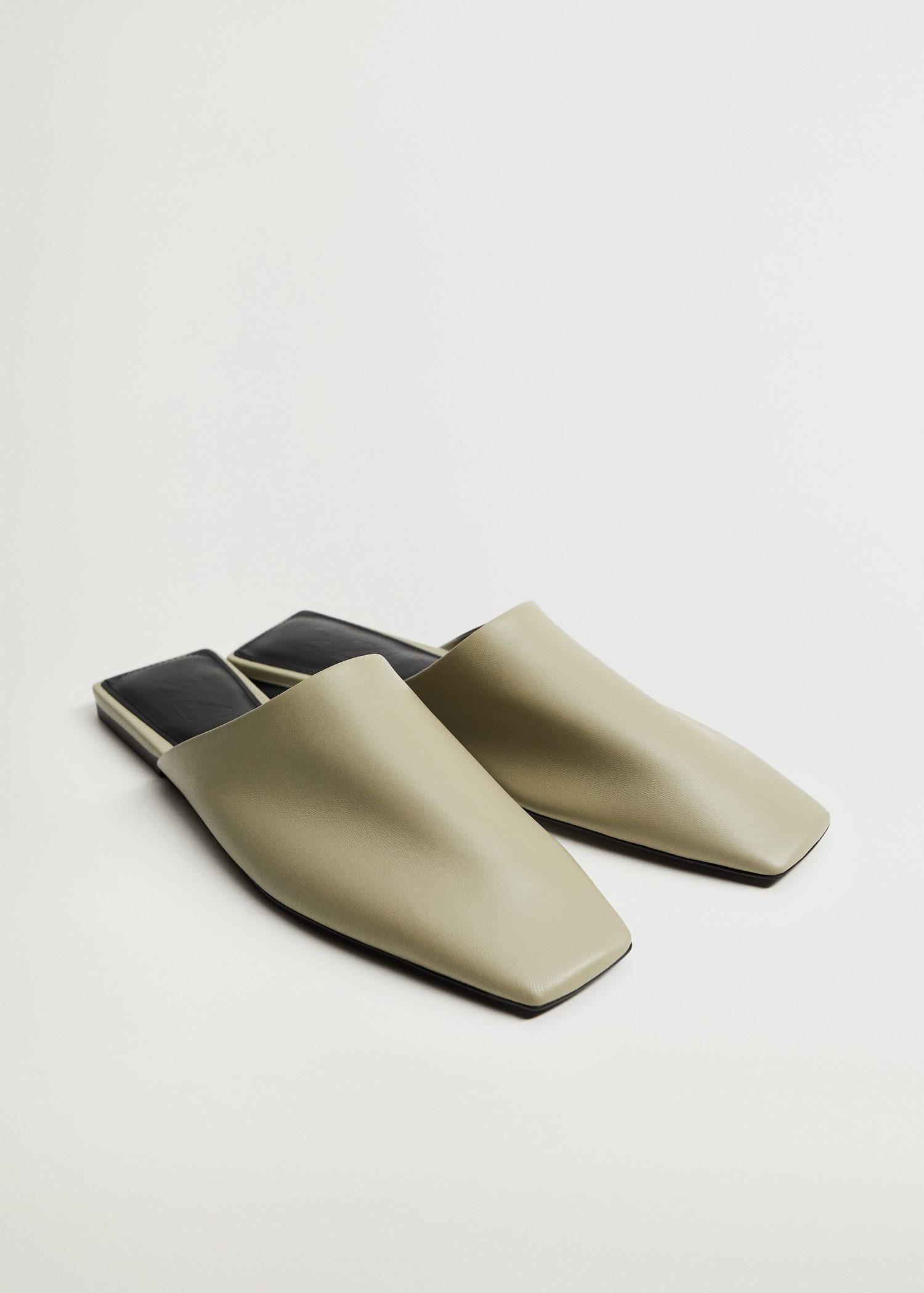 sling back leather babouches 4