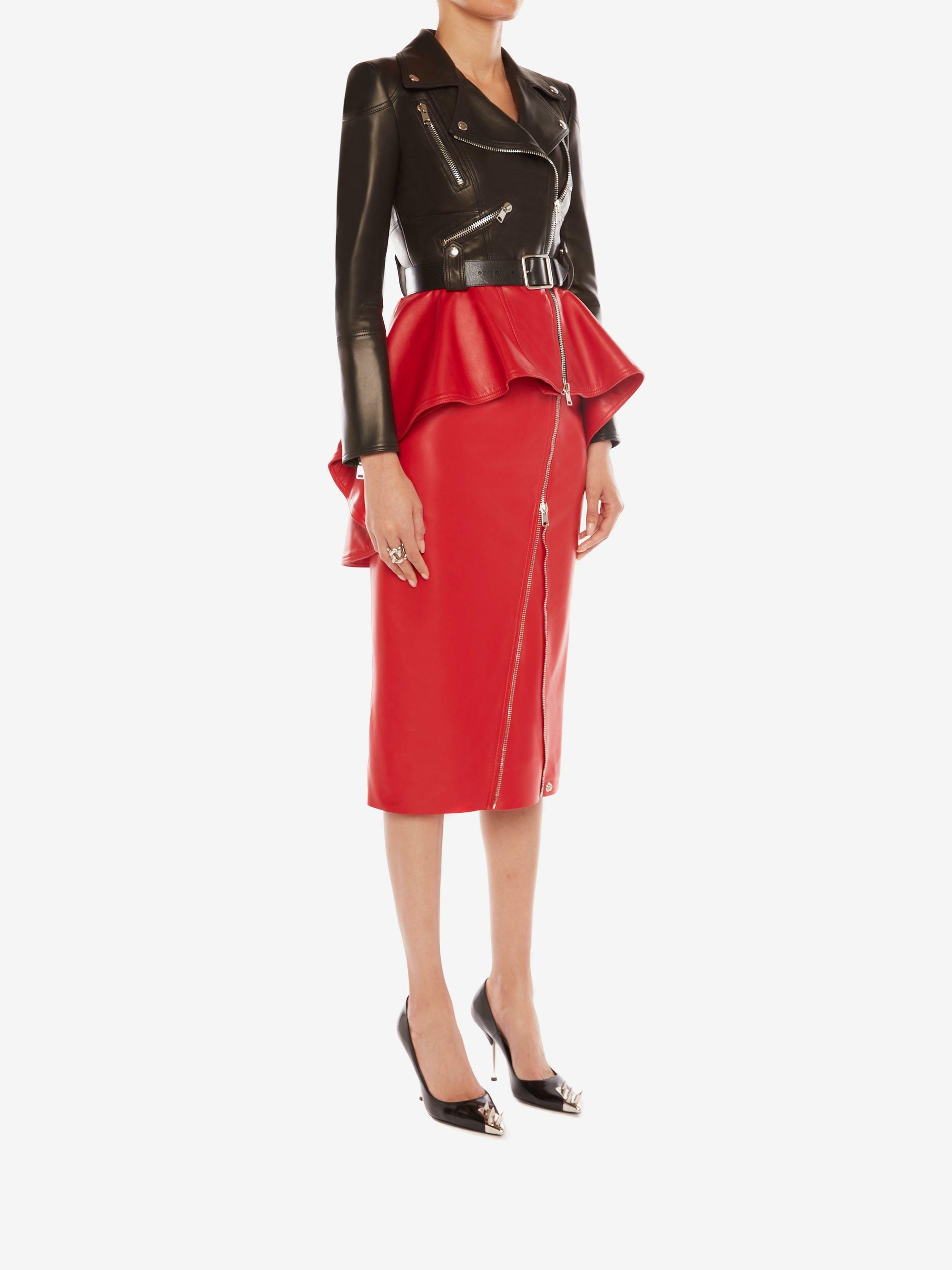 Leather Pencil Skirt 1