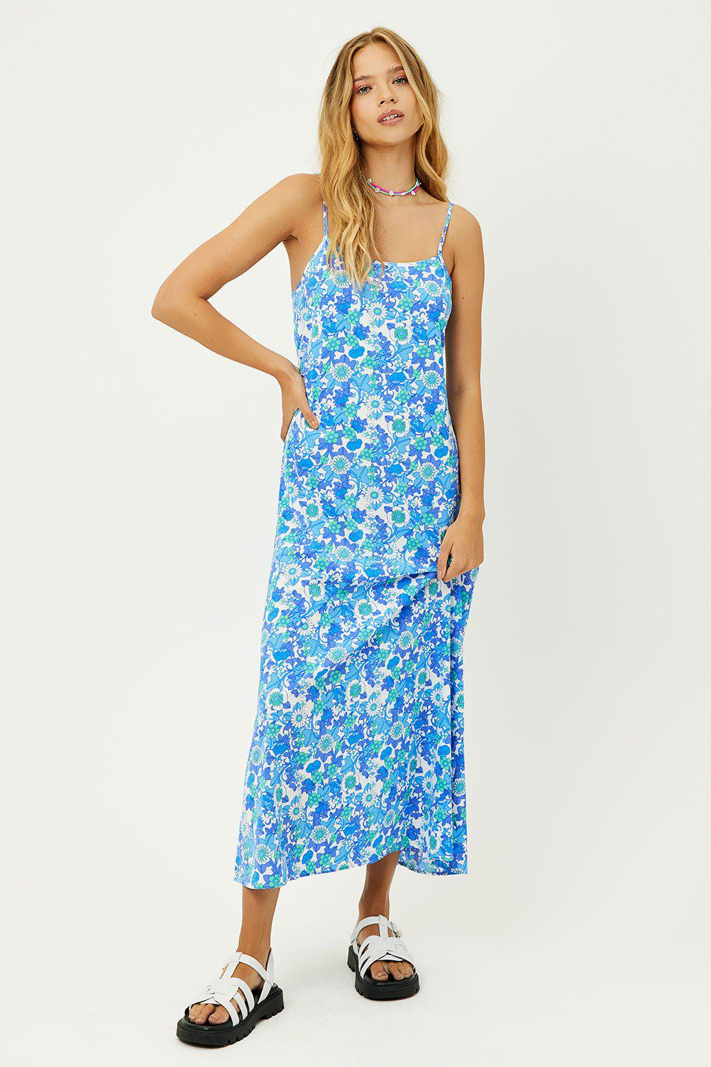 Isabel Floral Maxi Dress - Morning Glory