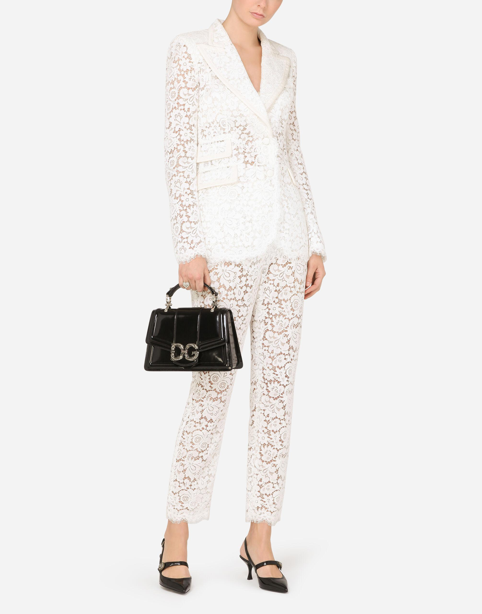 Lace jacket with edge detailing 3