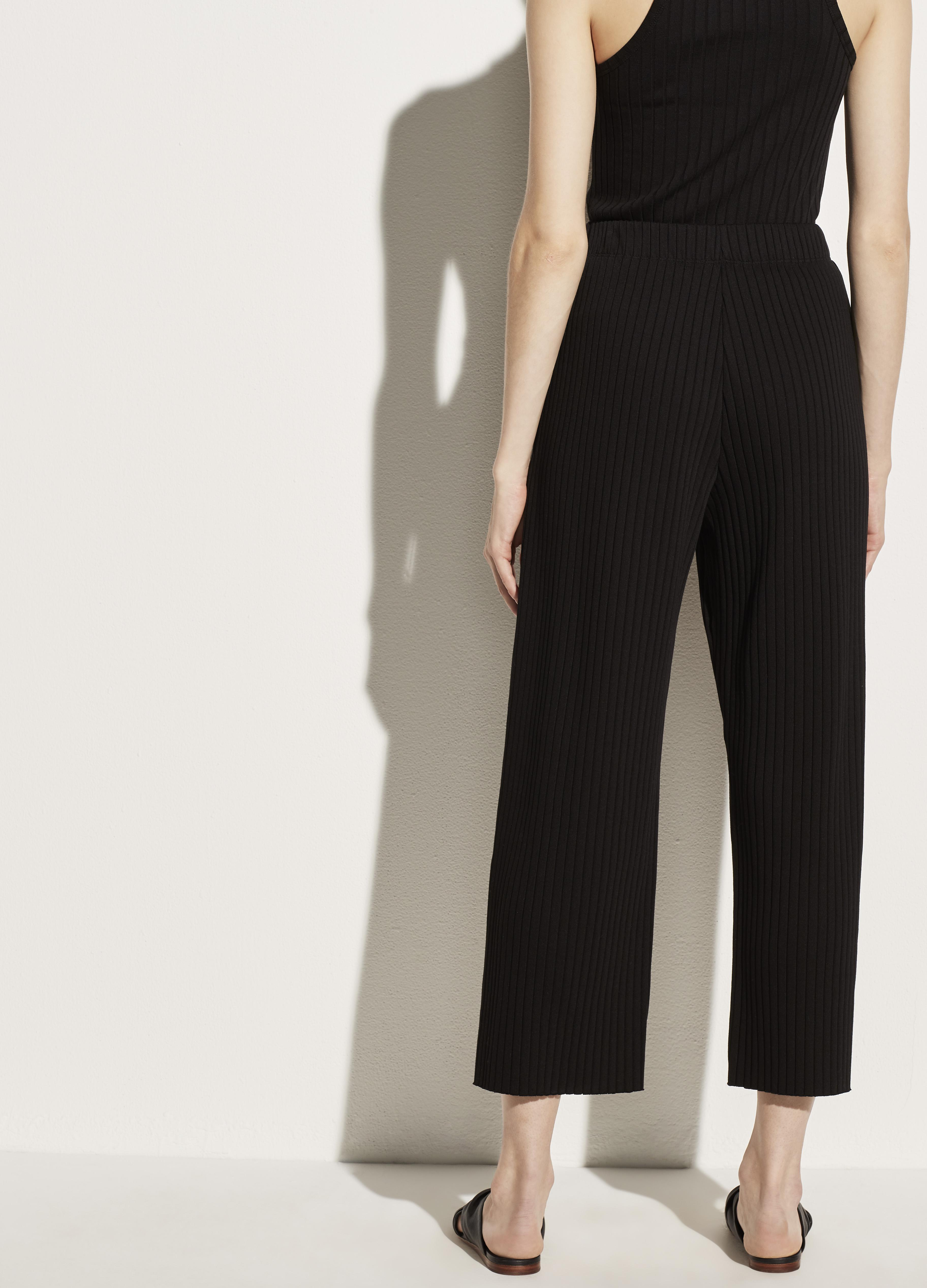 Ribbed Cropped Pant 2