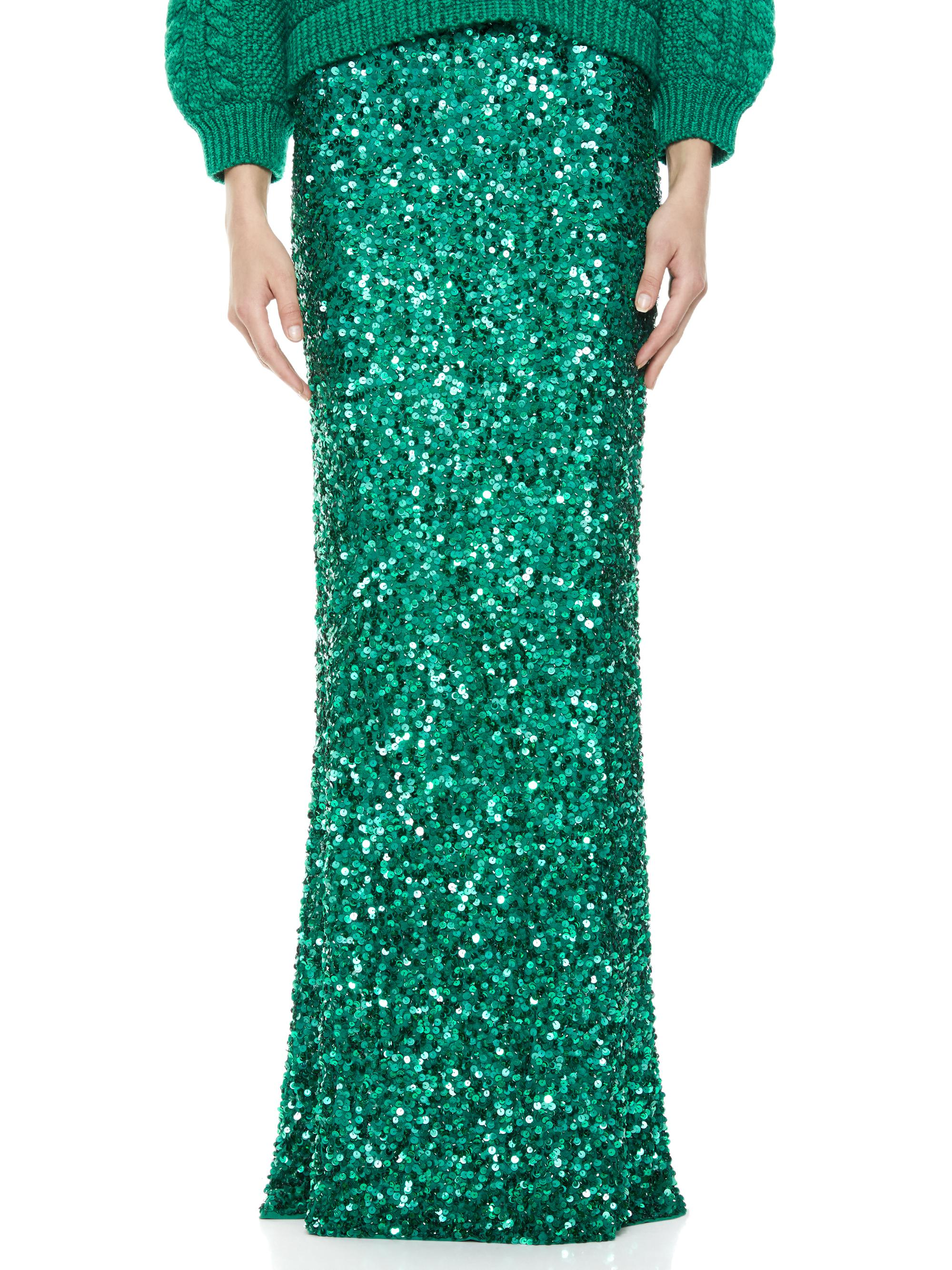 CHARITY SEQUIN GOWN SKIRT