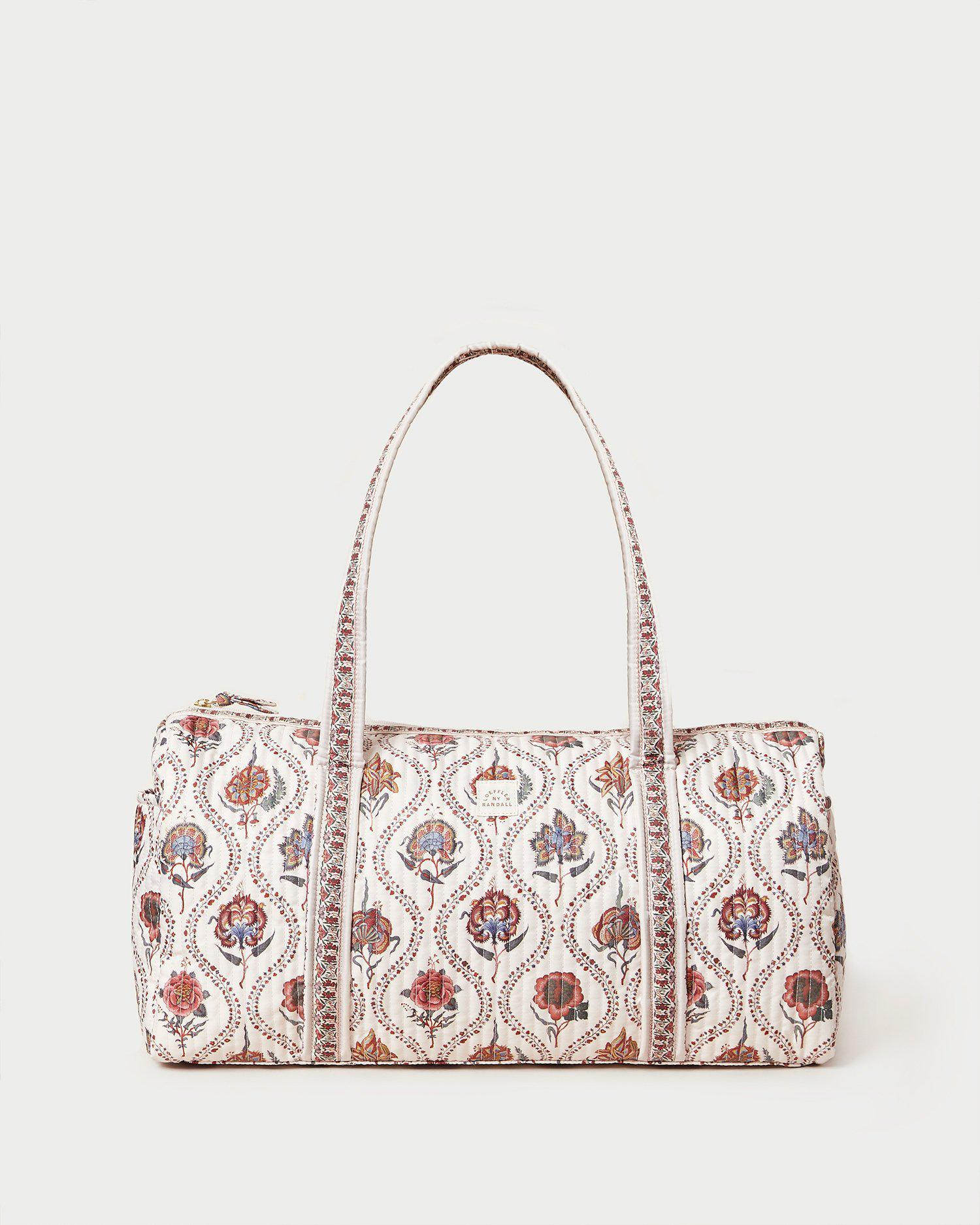 Aidy Bloom Floral Duffle Bag