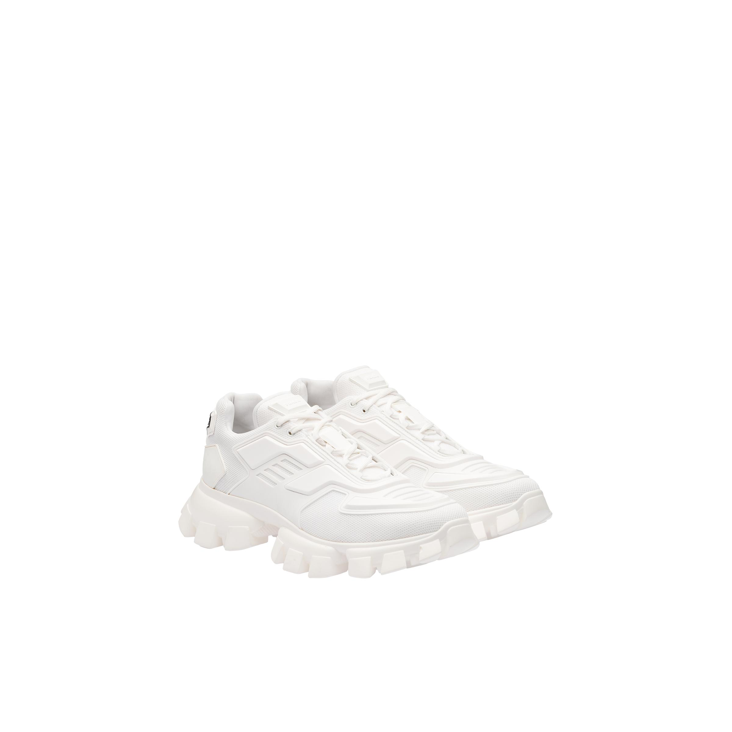 Cloudbust Thunder Technical Fabric Sneakers Men White