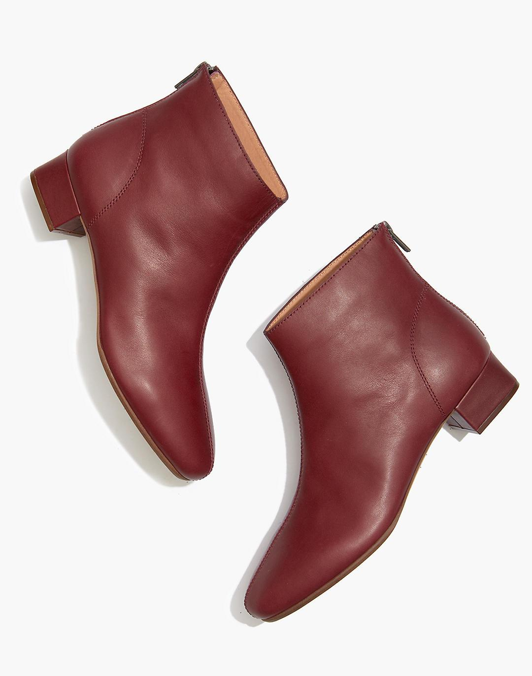 The Rena Ankle Boot in Leather