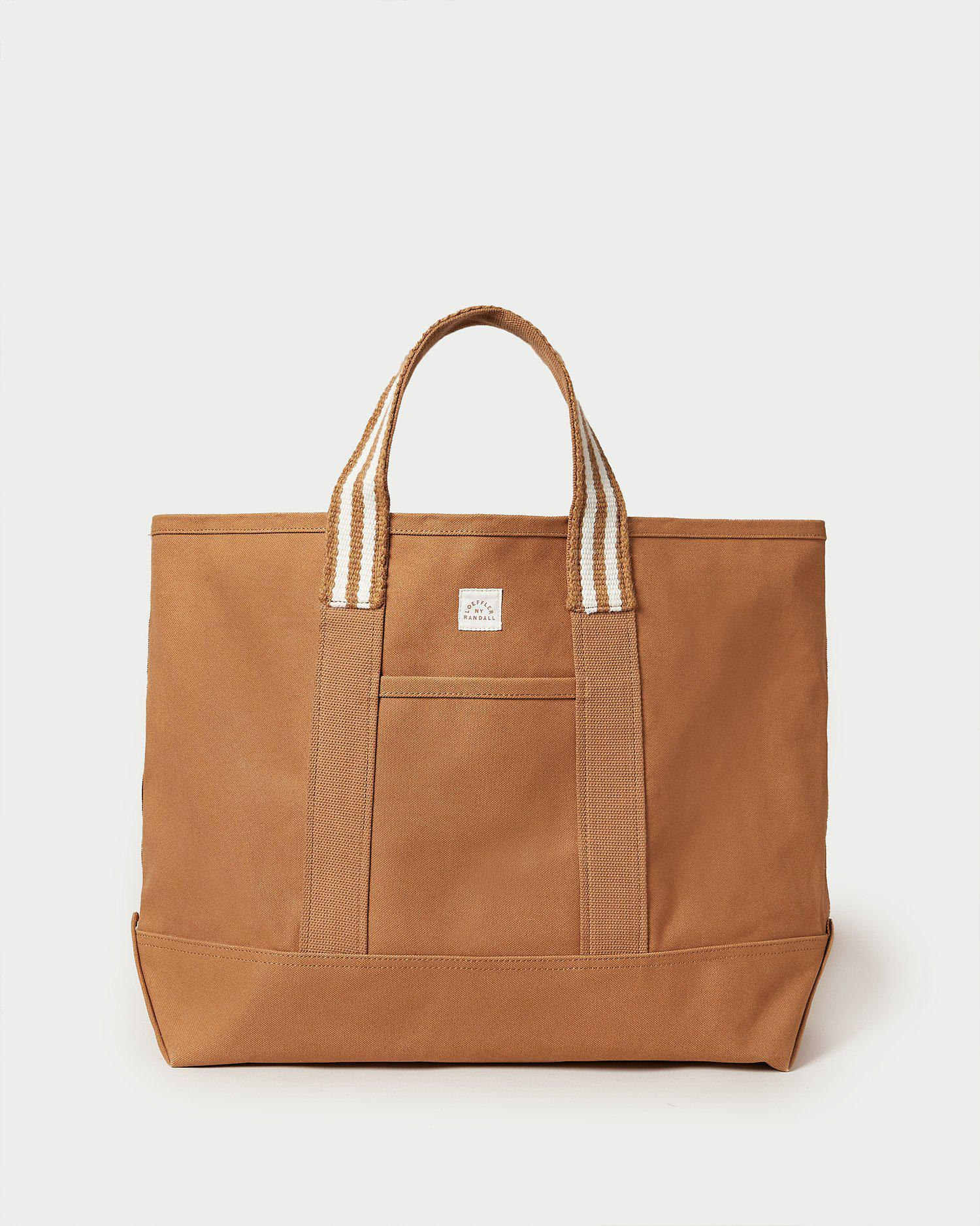 Bodie Toffee Oversized Open Tote