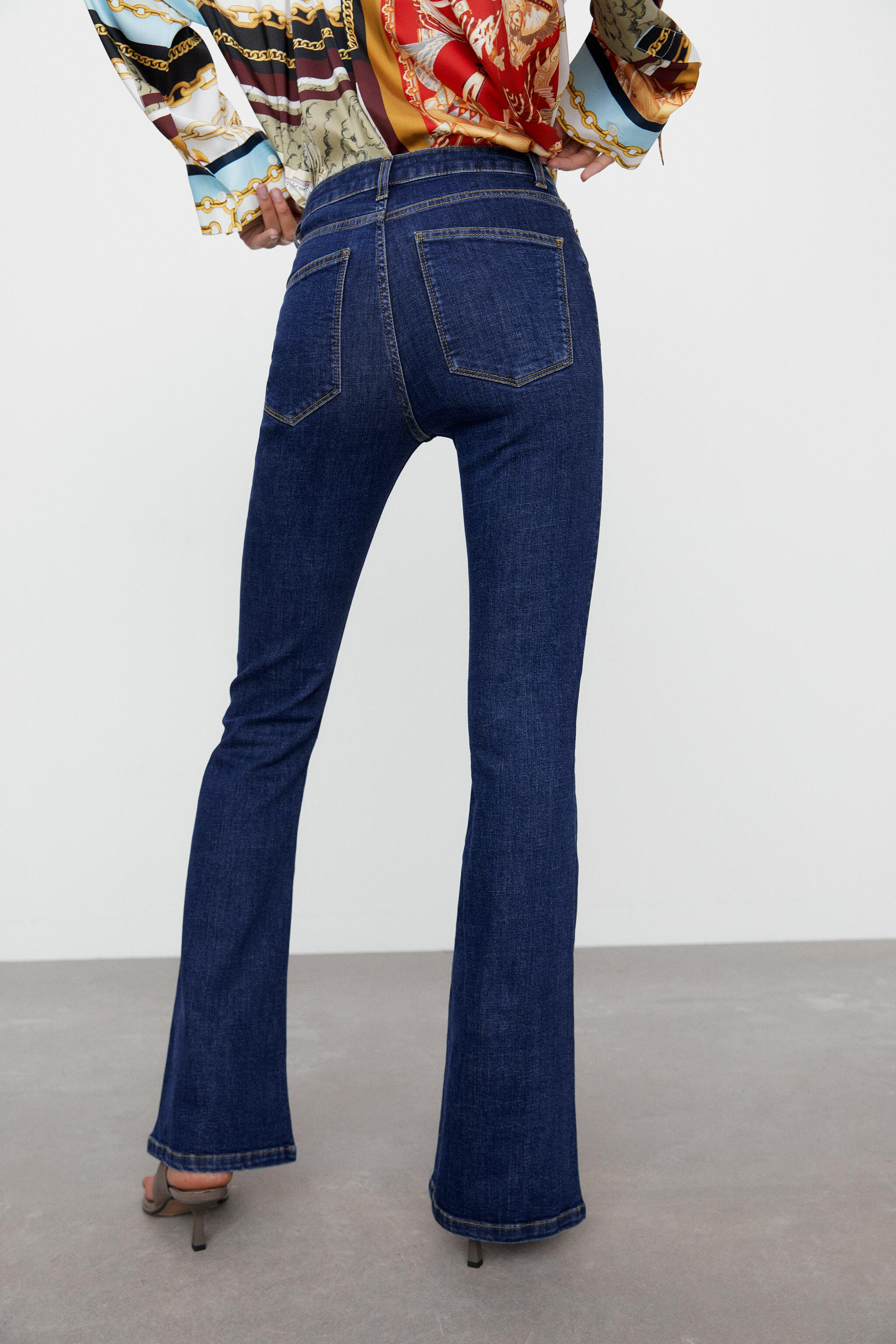 ZW THE SKINNY FLARE JEANS 4