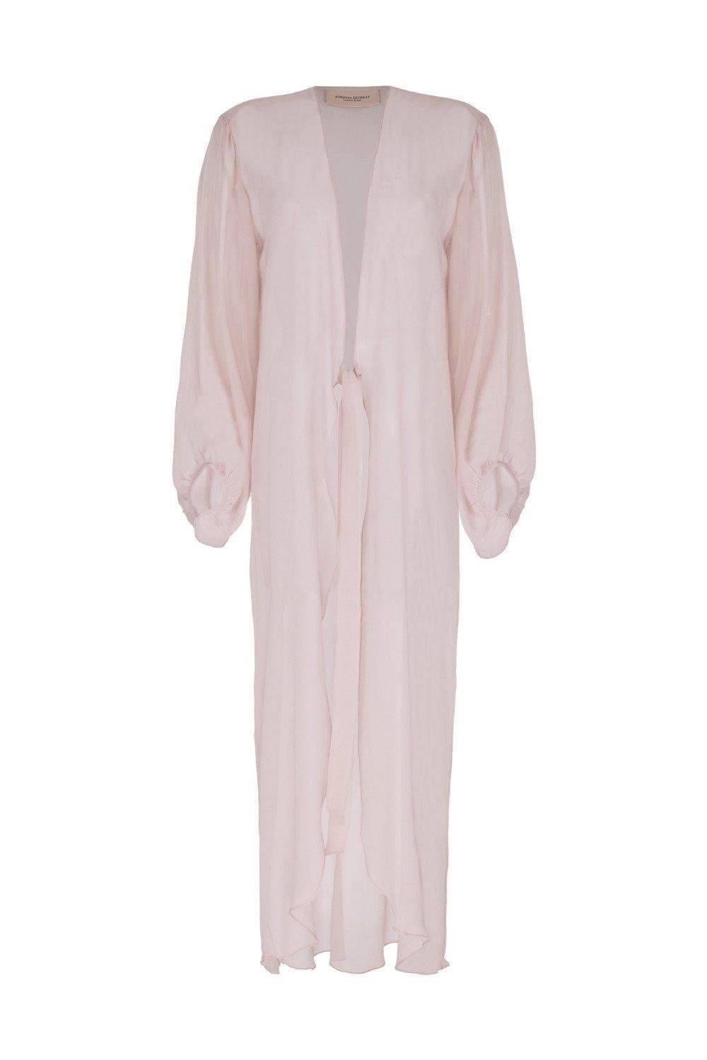 Fig Solid Long Robe 4