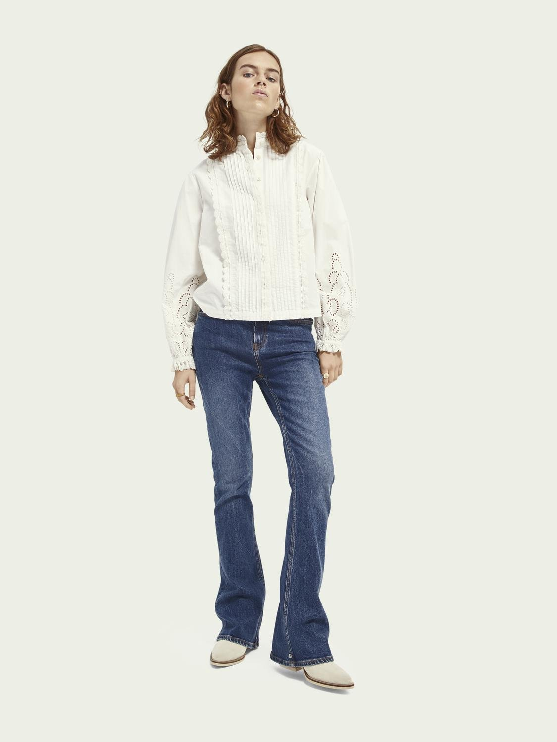 Broderie anglaise detail top 1