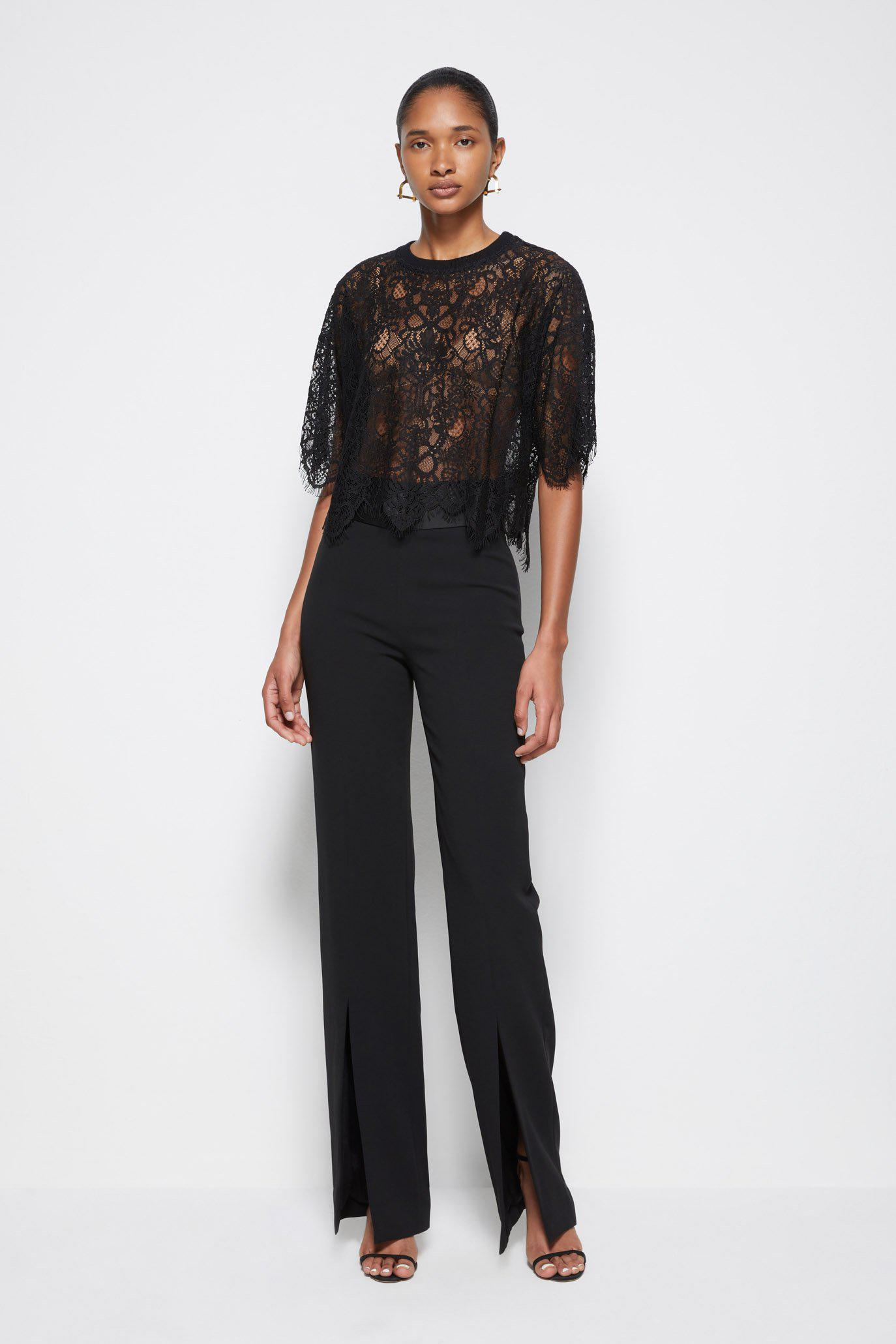 Signature Corded Lace Top 1