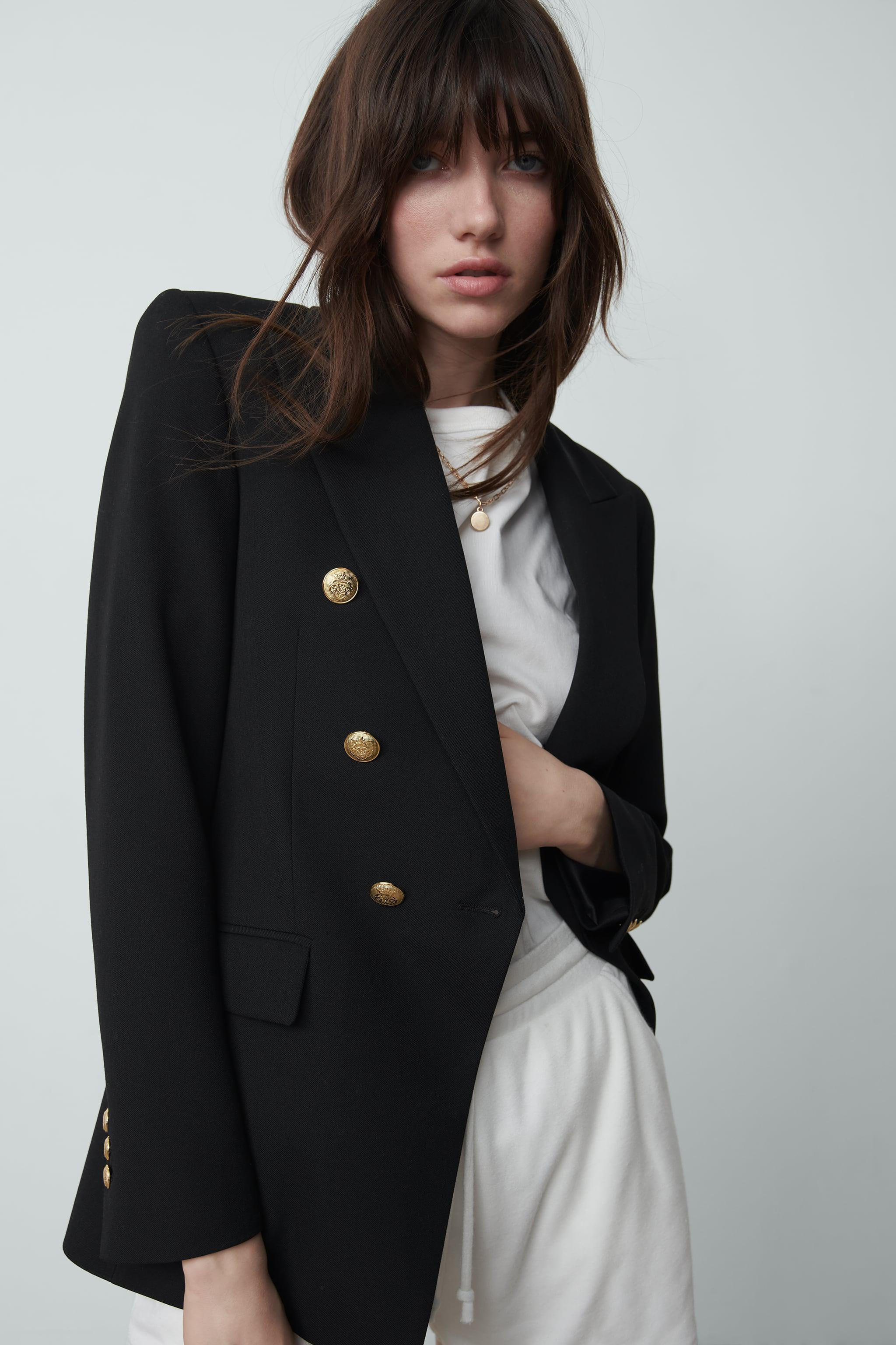 TAILORED DOUBLE BREASTED BLAZER 2