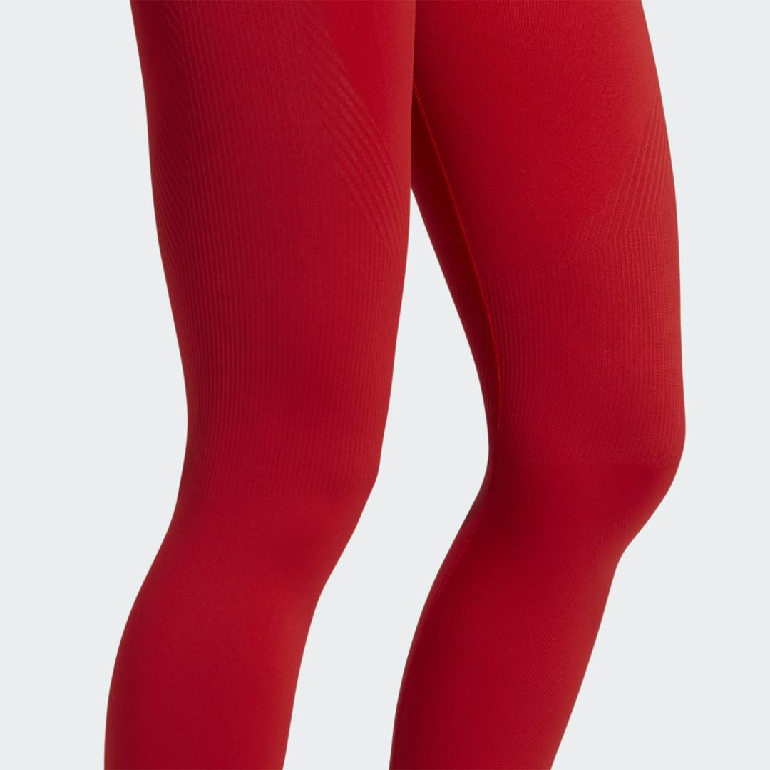 Training Aeroknit 7/8 High-Rise Tights Red 6