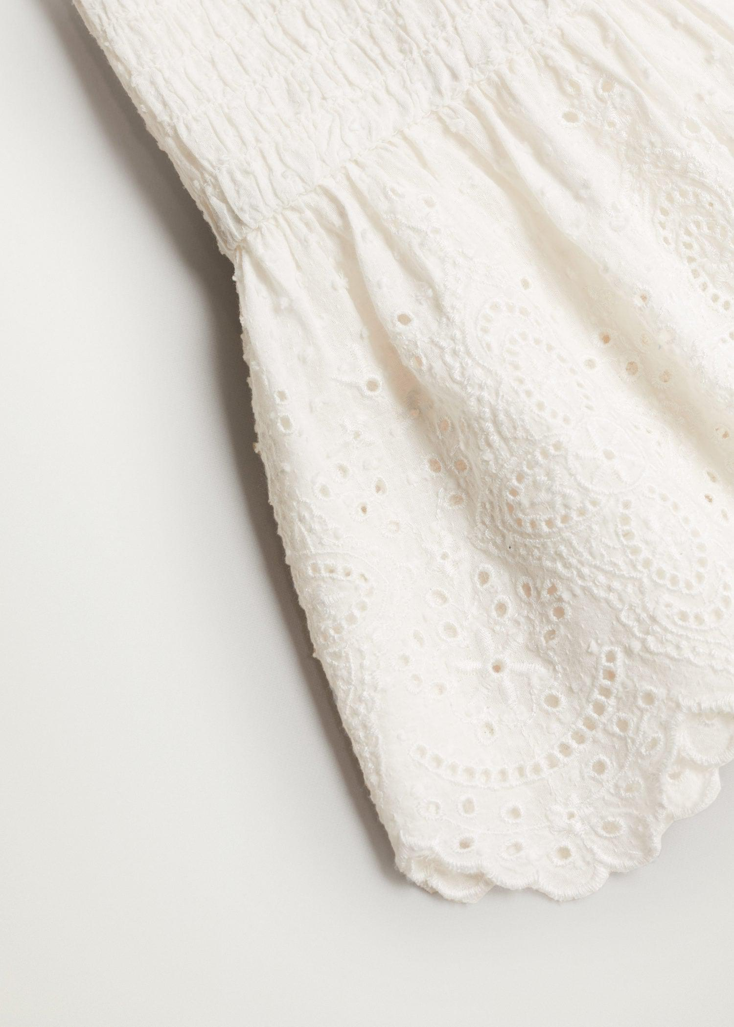 Broderie anglaise panel top 5