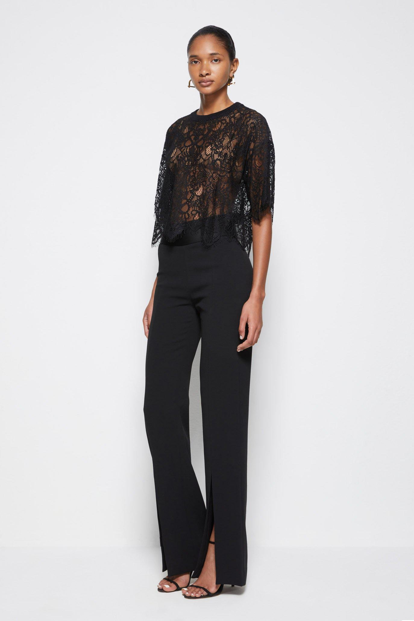 Signature Corded Lace Top 5