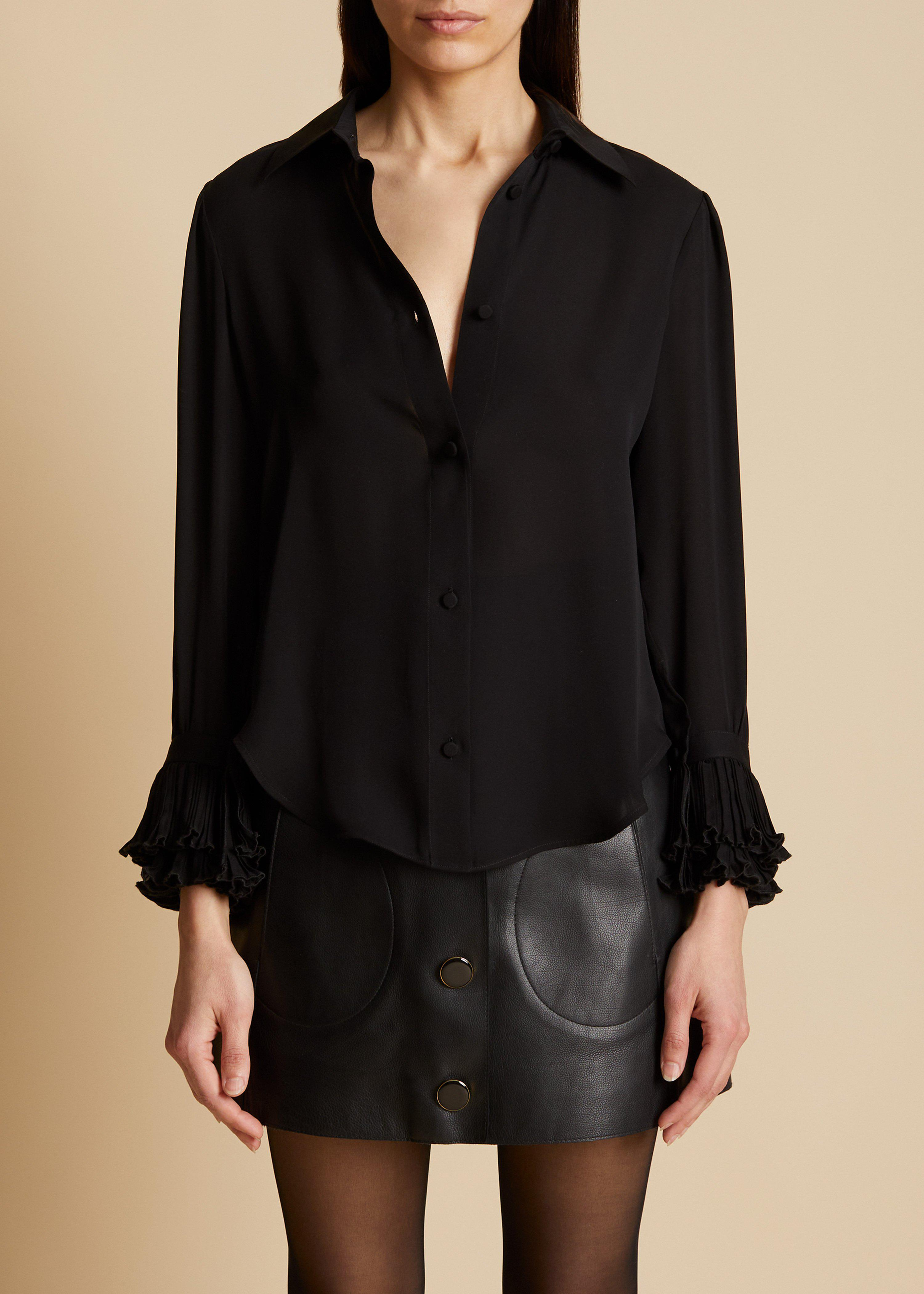 The Mary Top in Black 0