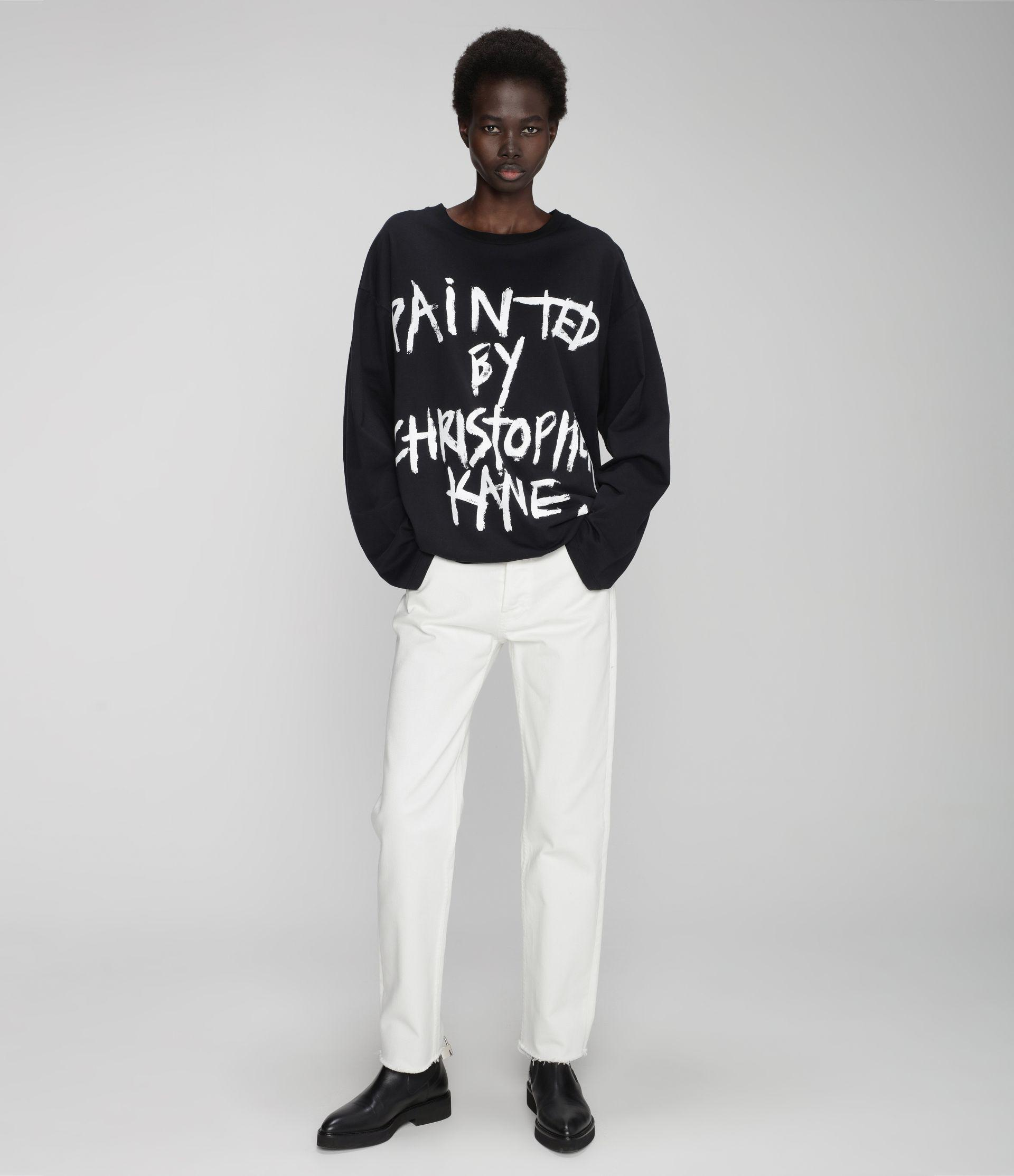 Painted by Christopher Kane long sleeve t-shirt 5
