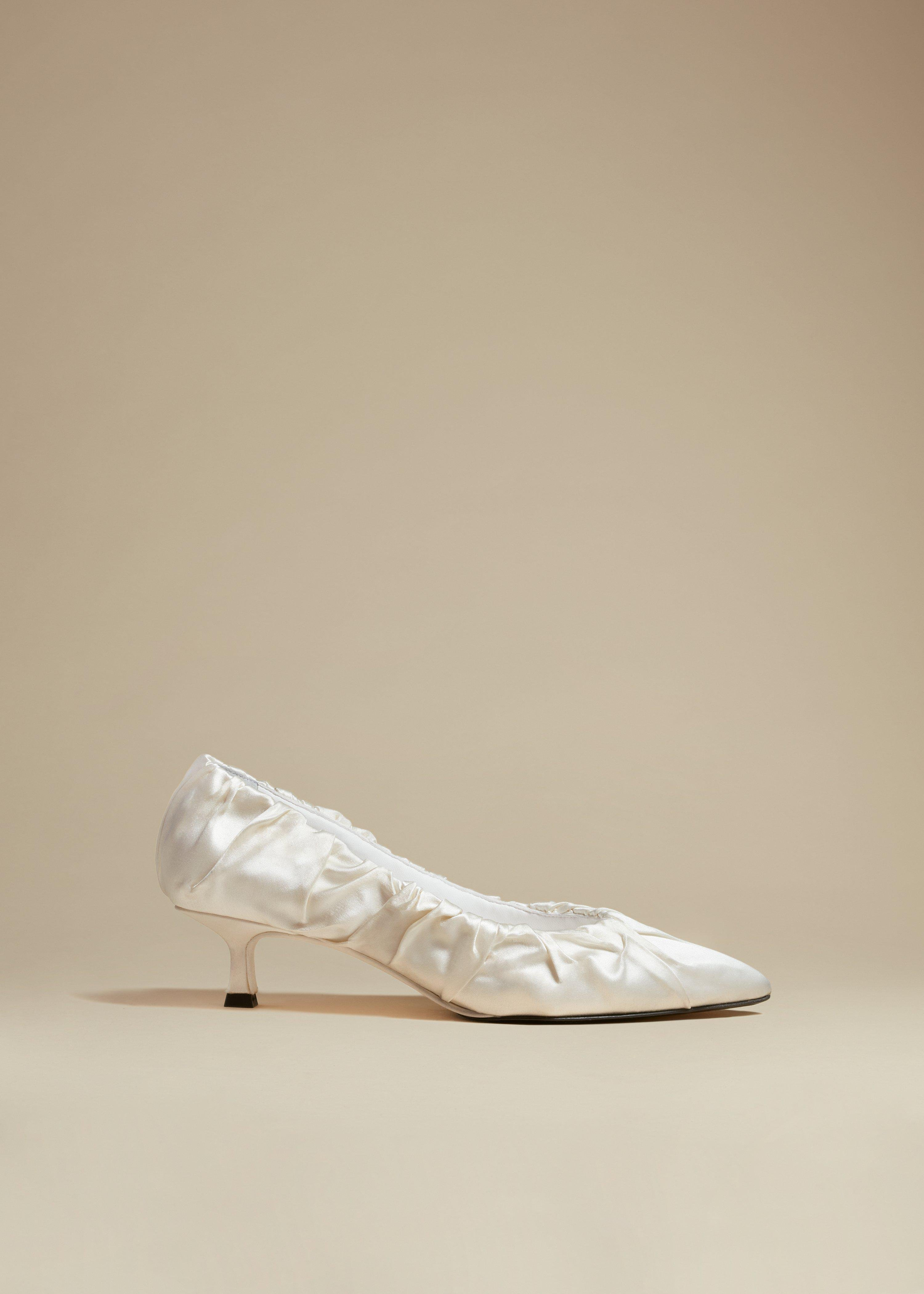 The Palermo Pump in Ivory