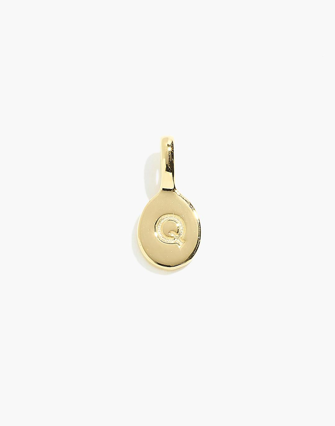 Delicate Collection Demi-Fine 14k Plated Initial Charm