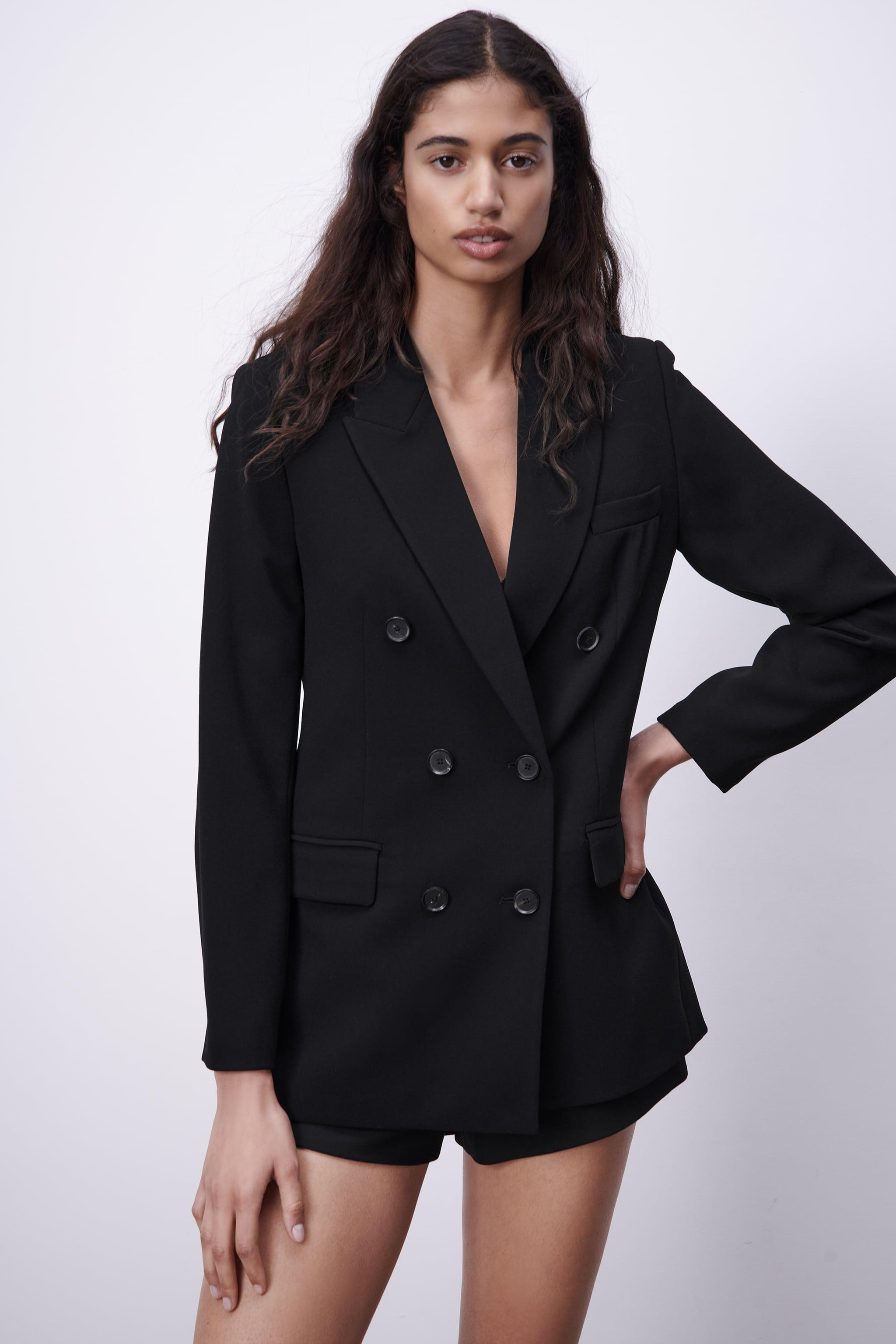 DOUBLE BREASTED BUTTONED JACKET 1