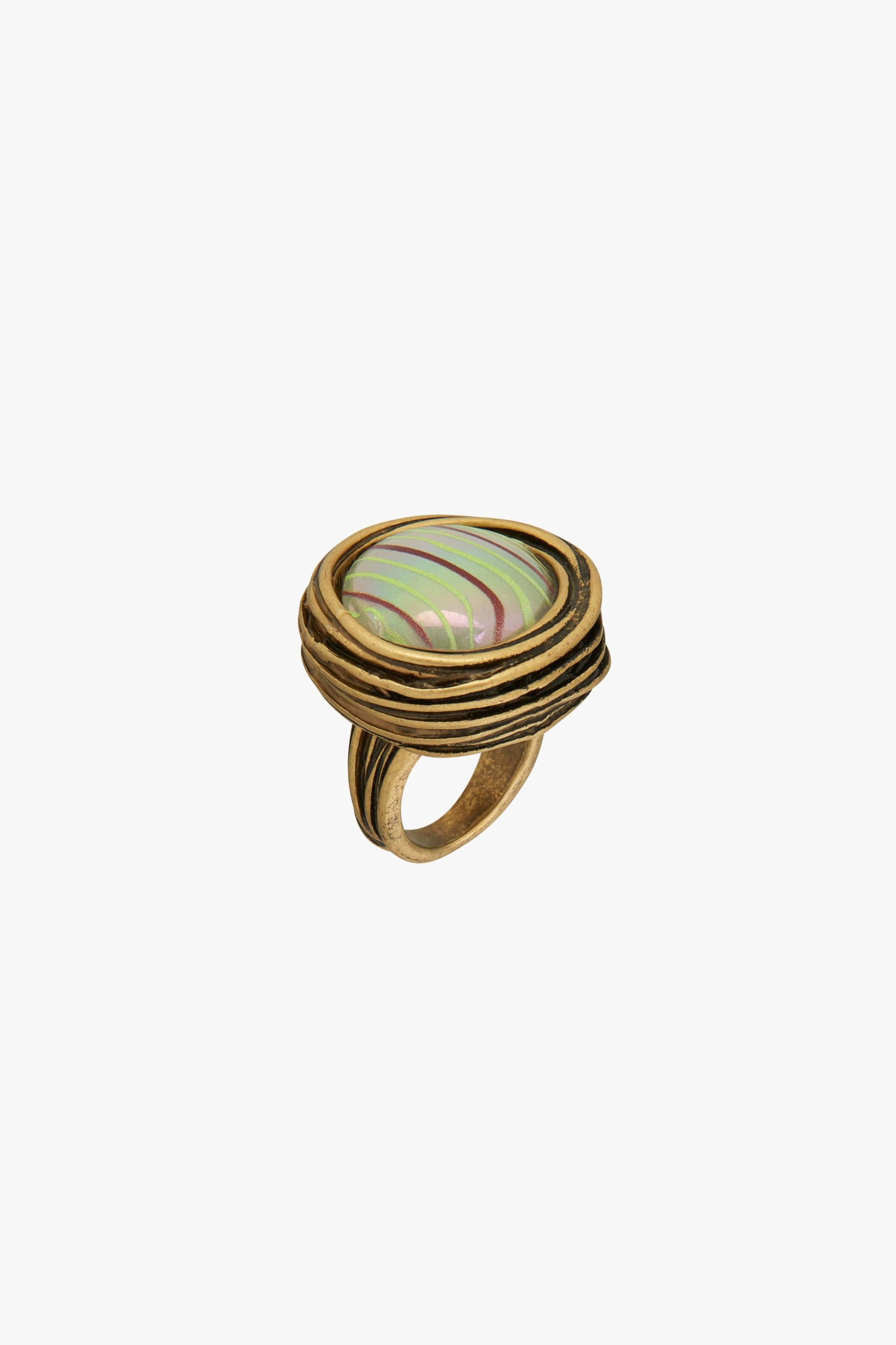 ROUND GLASS RING LIMITED EDITION