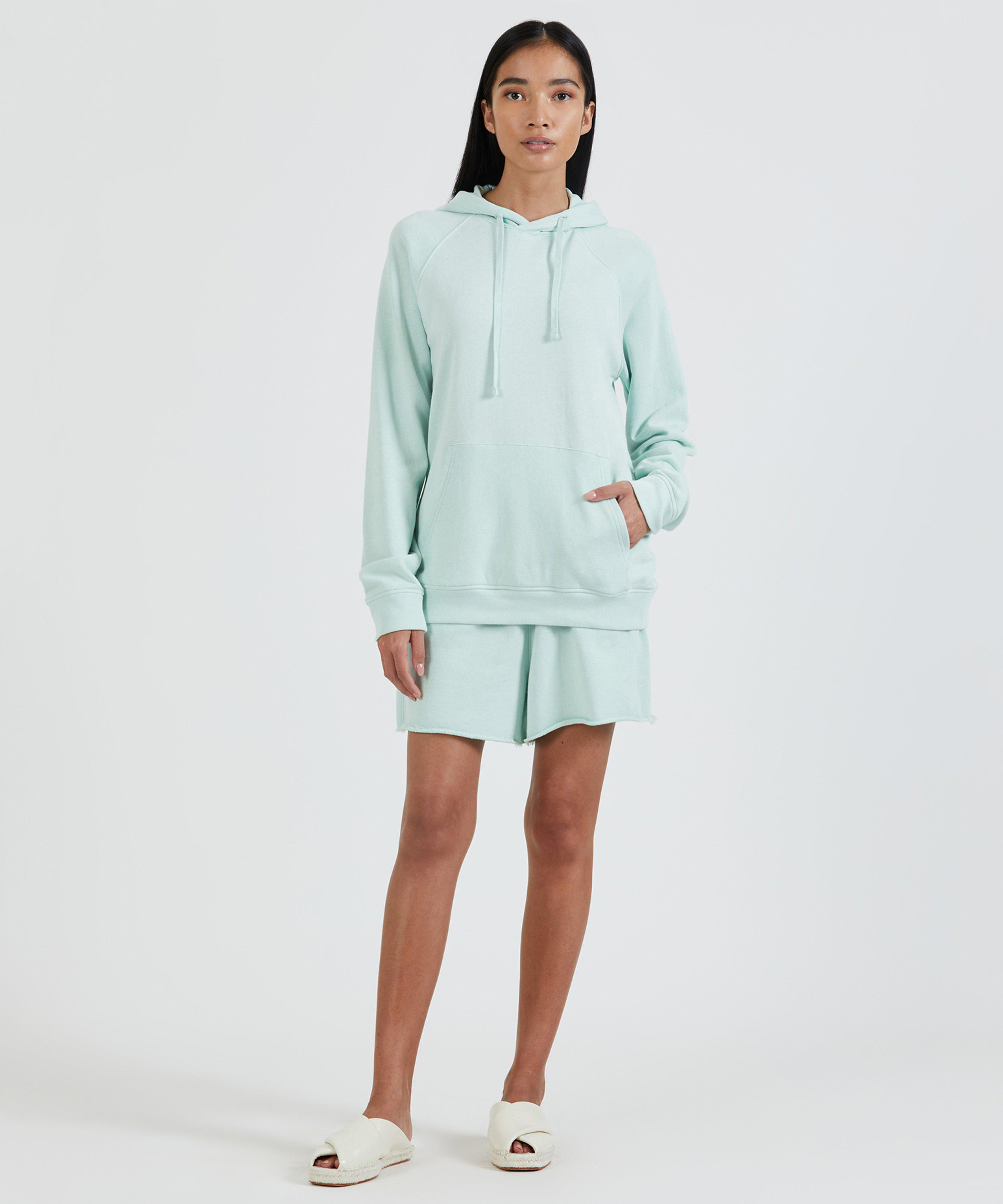 French Terry Pull-Over Hoodie - Mint 2