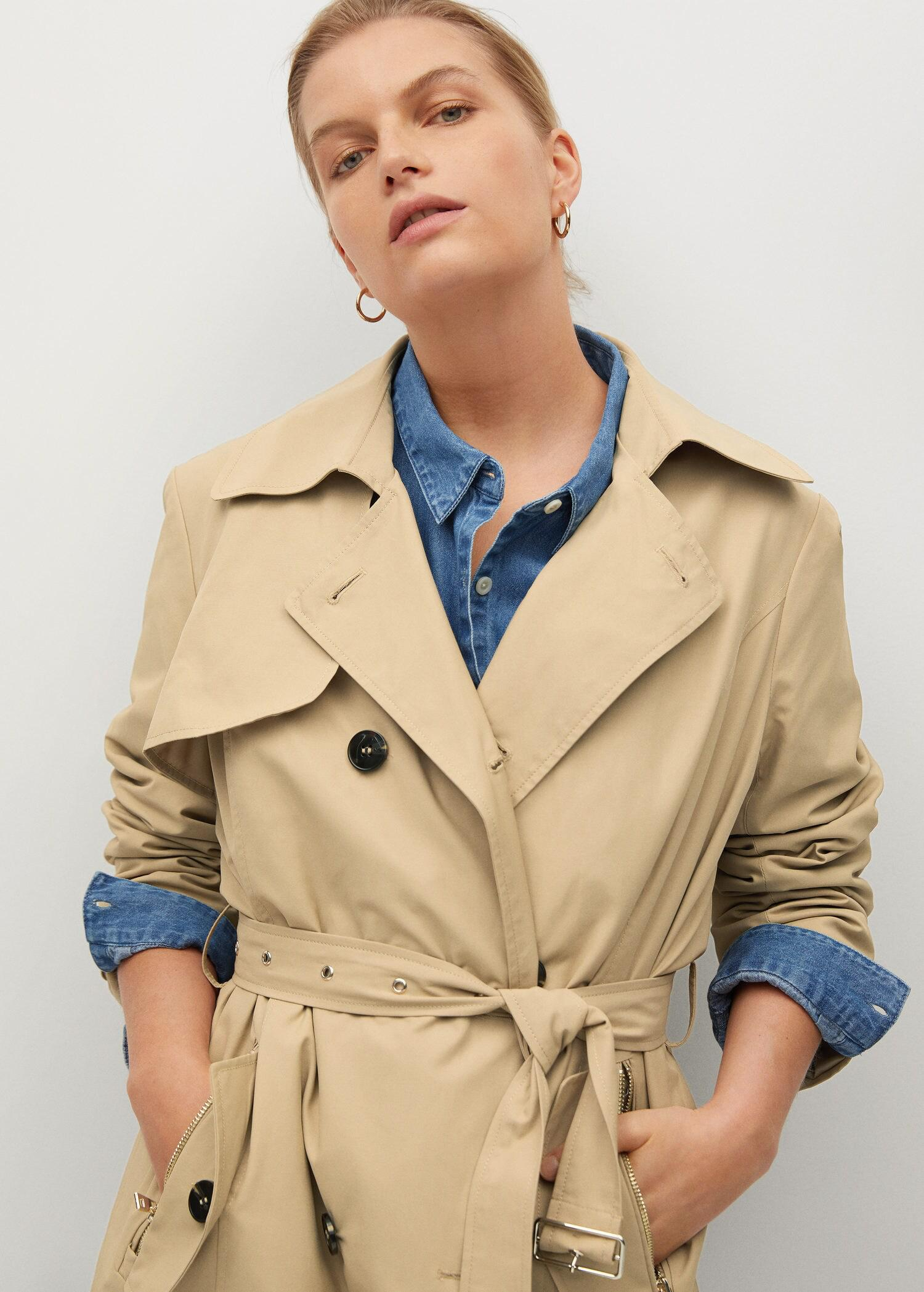 Classic belted trench 3
