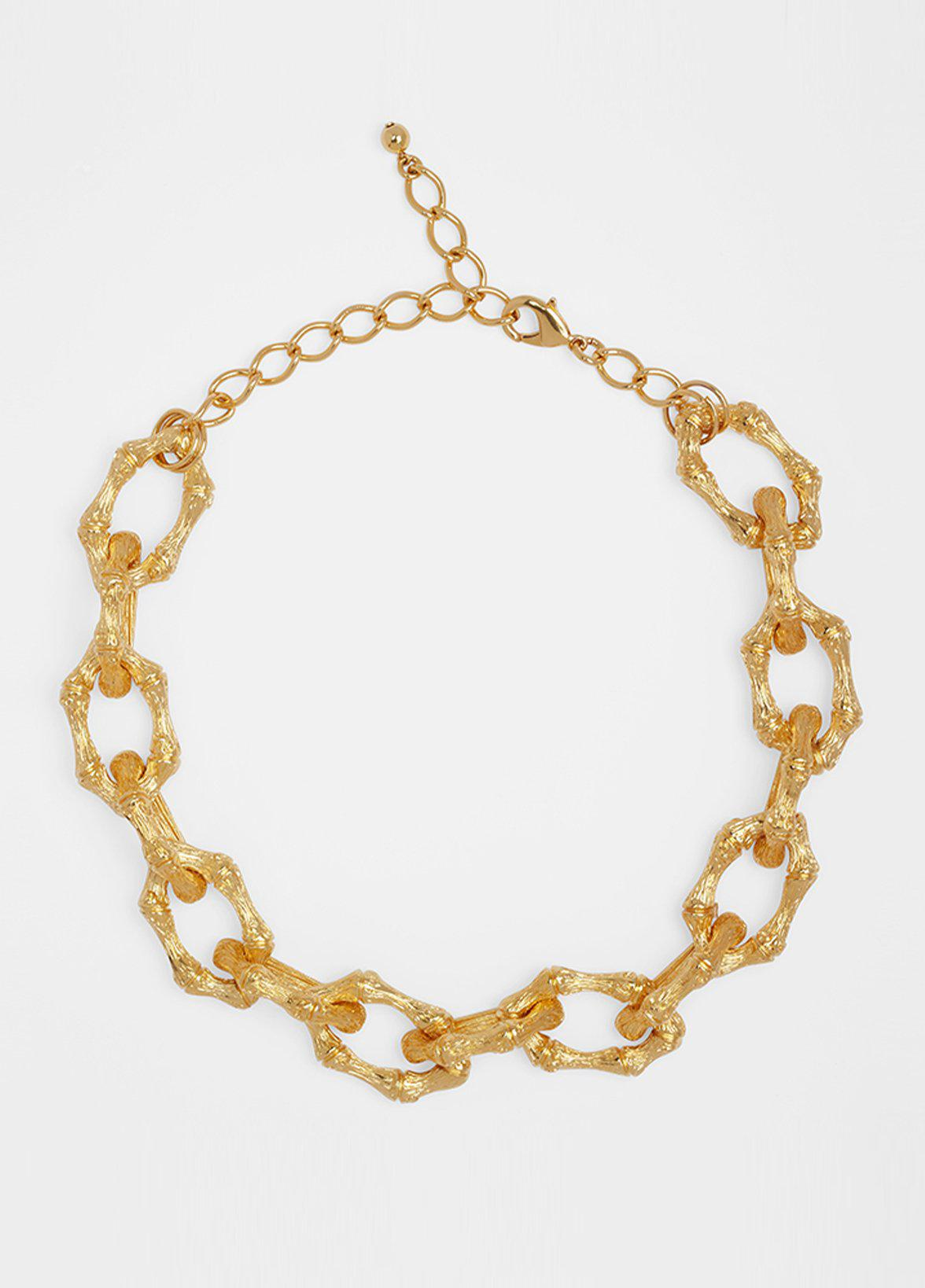BAMBOO LINK NECKLACE