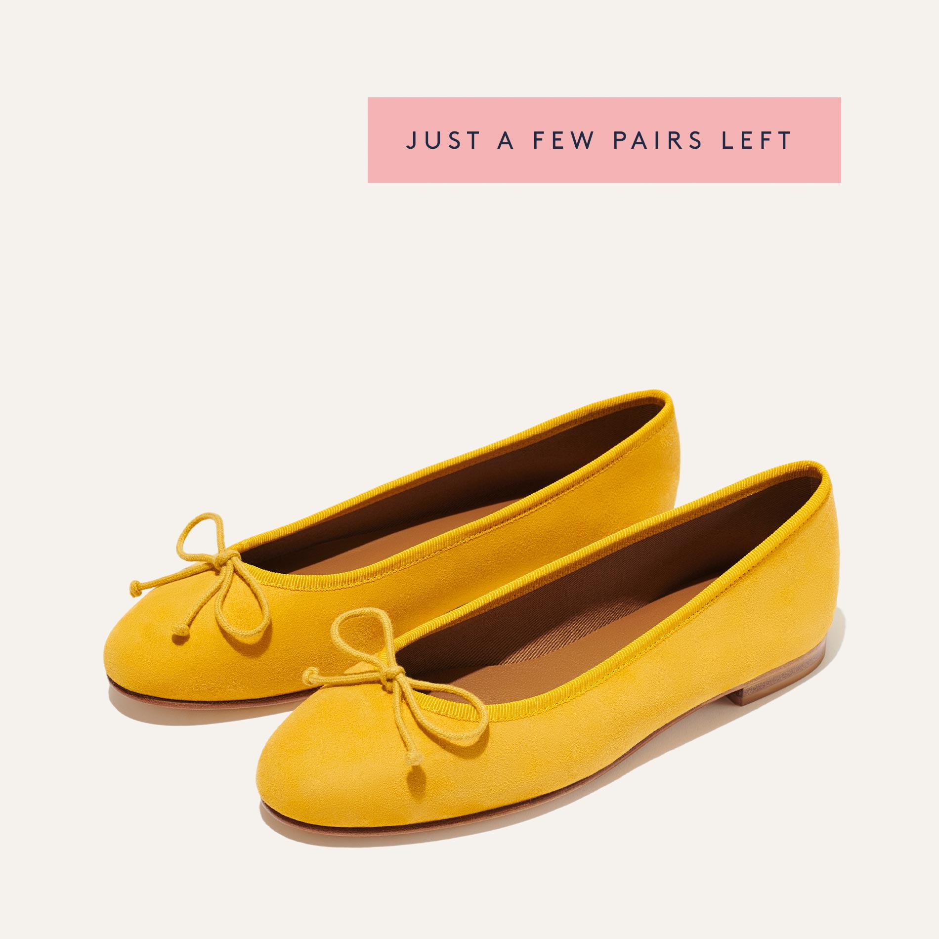 The Demi - Ochre Suede