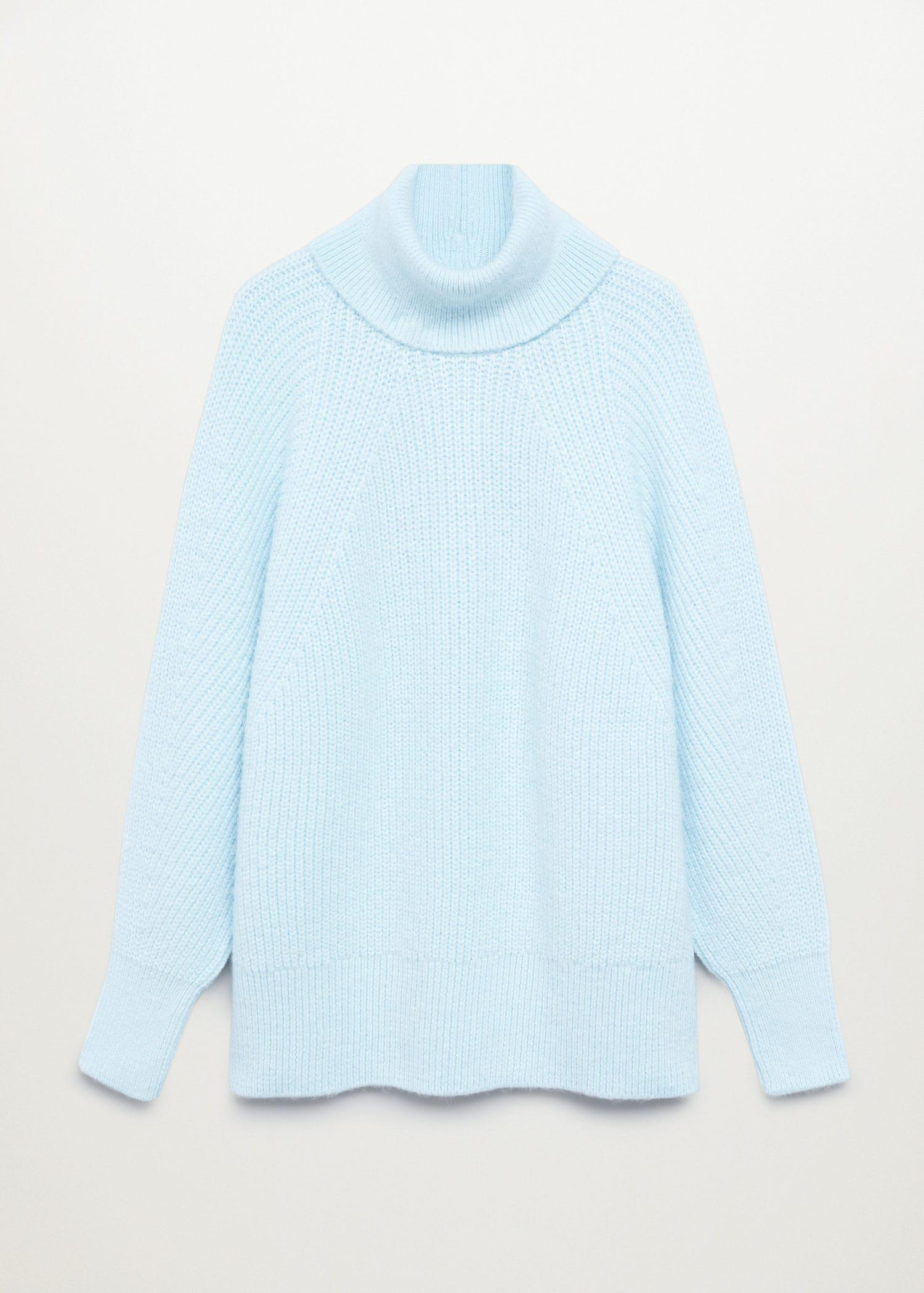 Turtleneck knitted sweater 7
