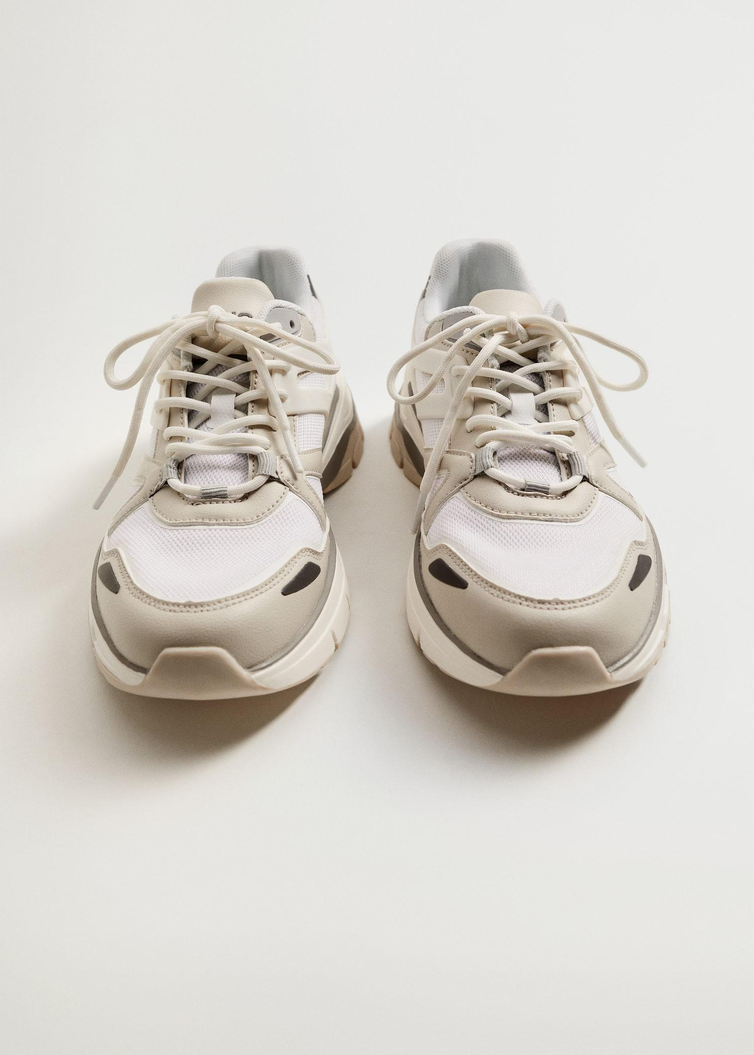 Track sole sneakers 4