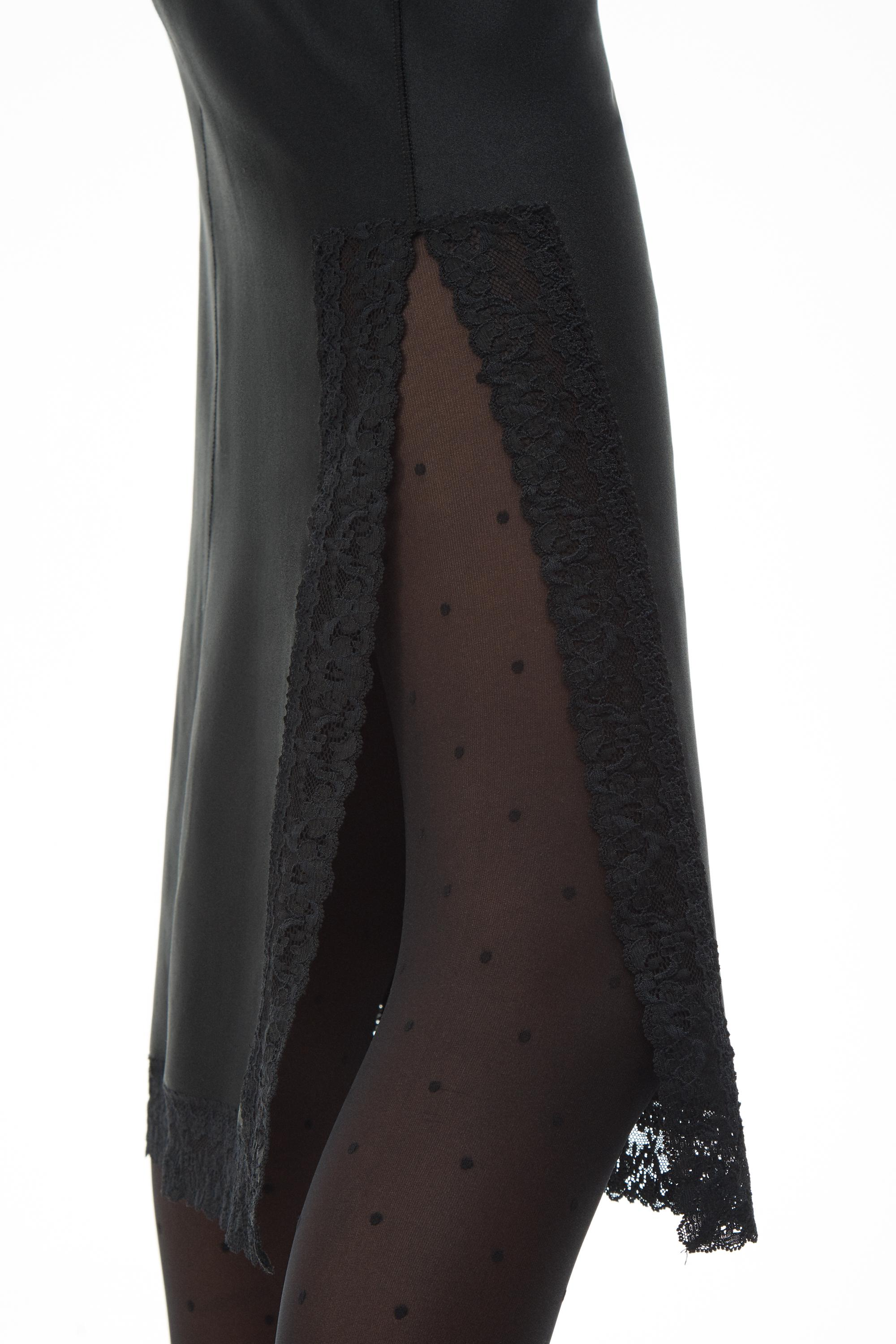 fitted slip dress 4