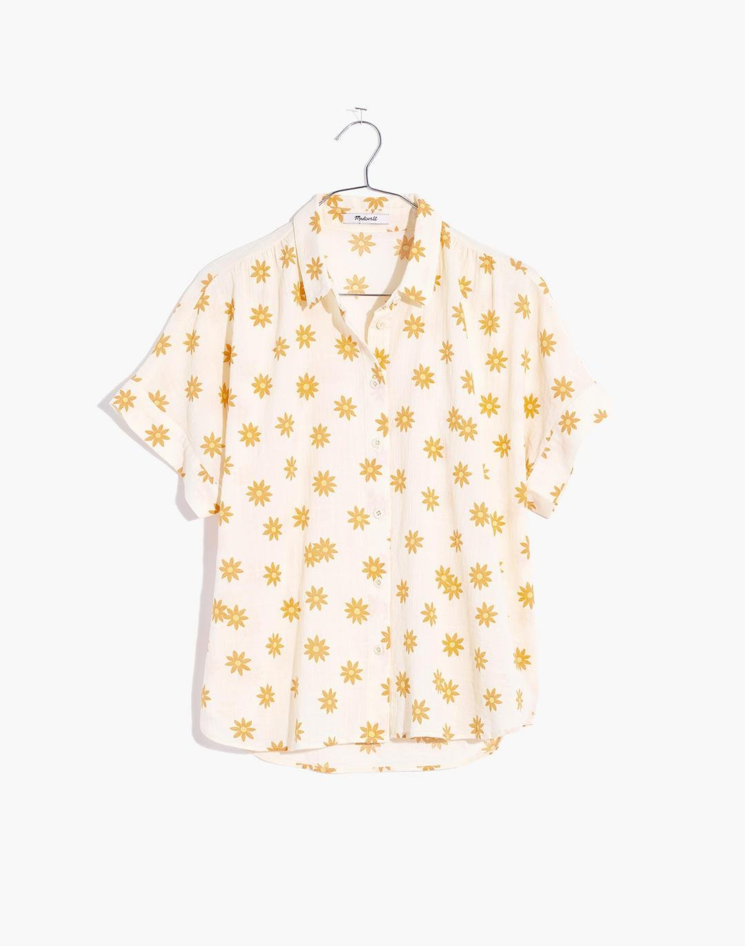 Hilltop Shirt in Daisy Groove 4