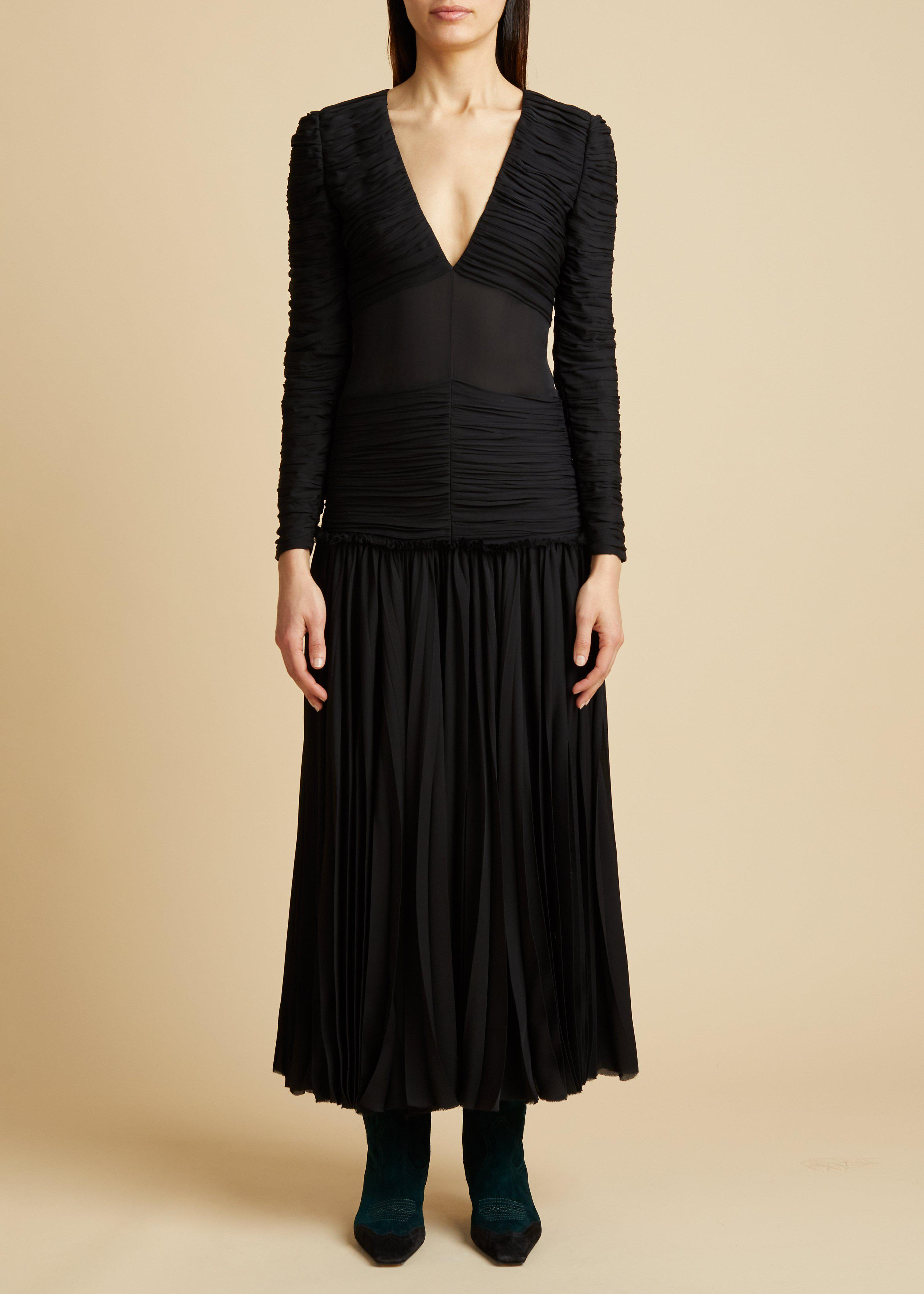The Mary Dress in Black 1