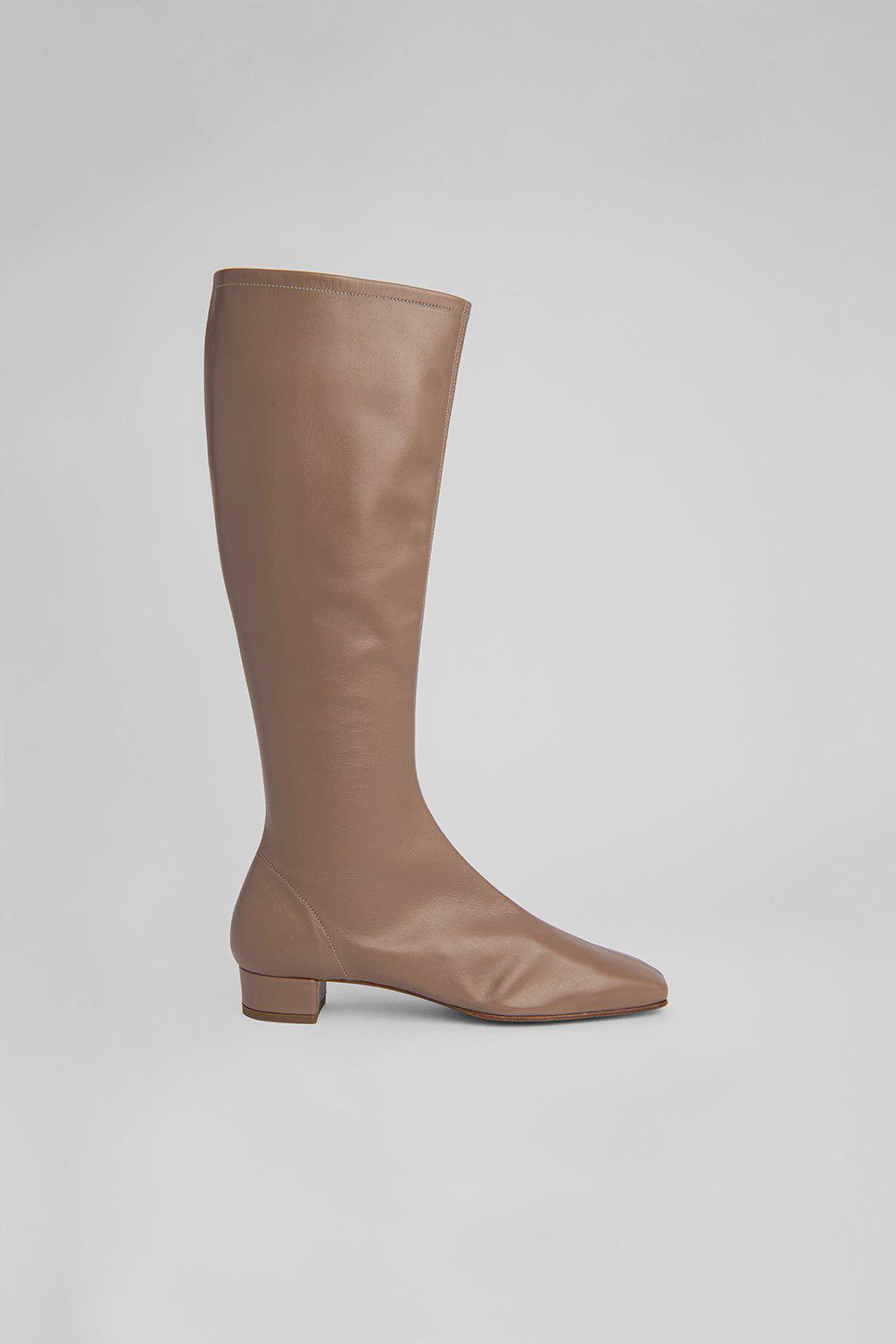 Edie Nude Leather