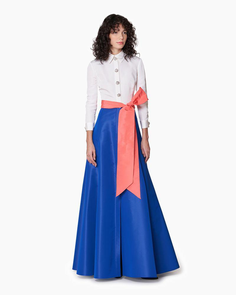 Shirt Gown with Sash