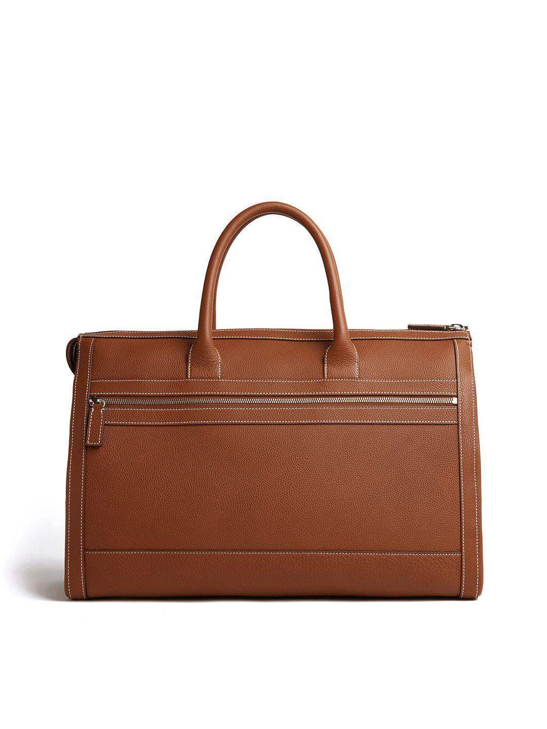 Mick Holdall Leather Duffle Bag 2