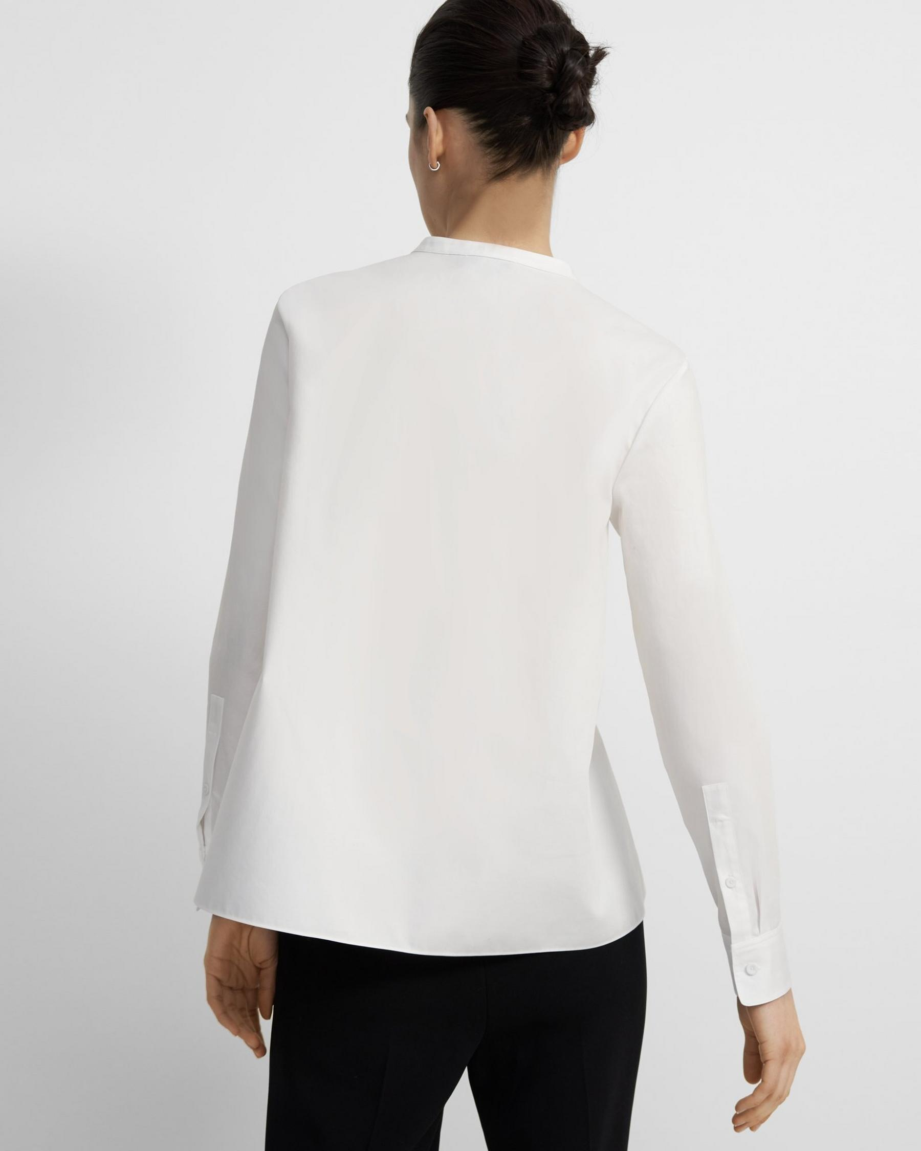 Cinched Shirt in Good Cotton 2