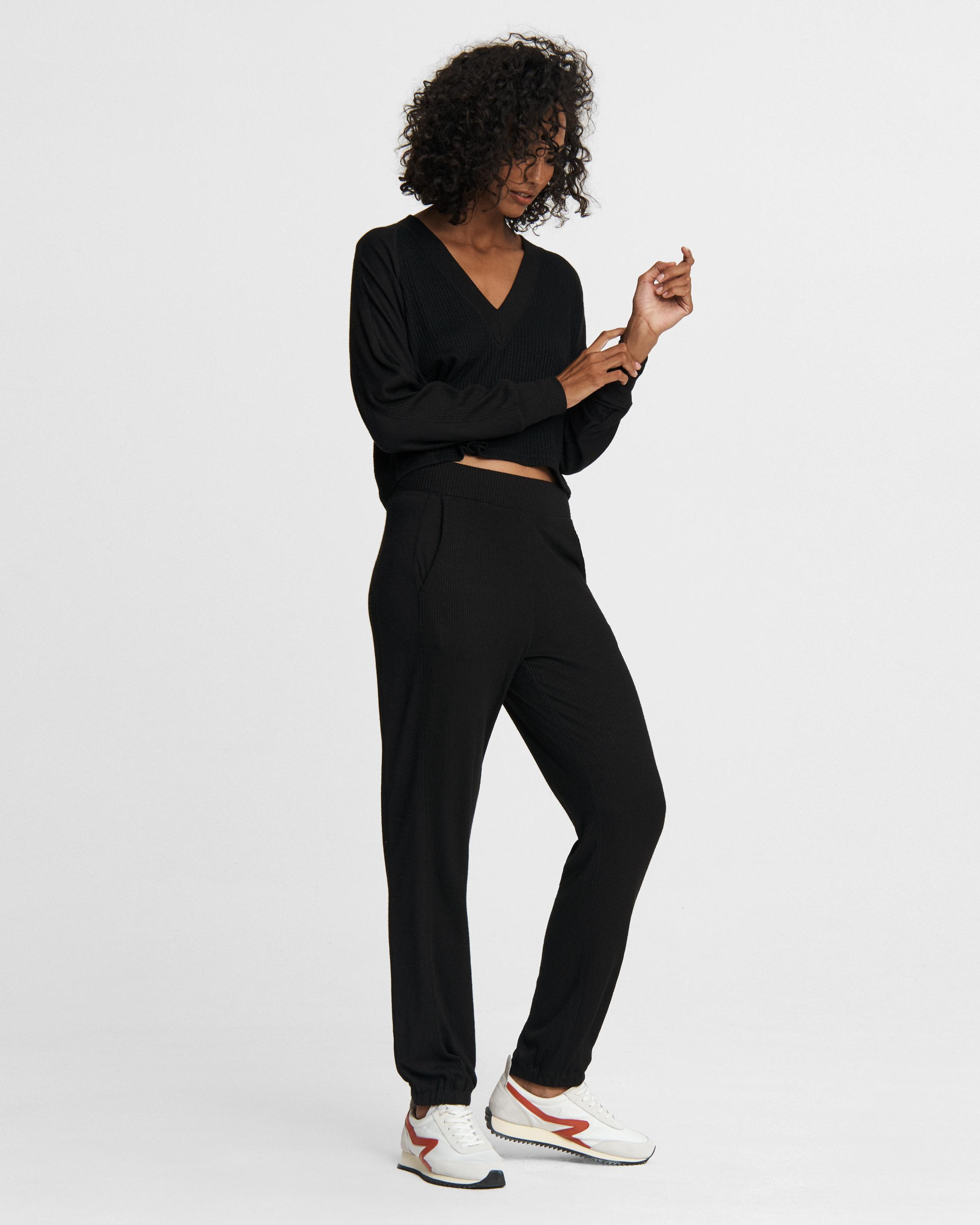 The knit jersey pant 1