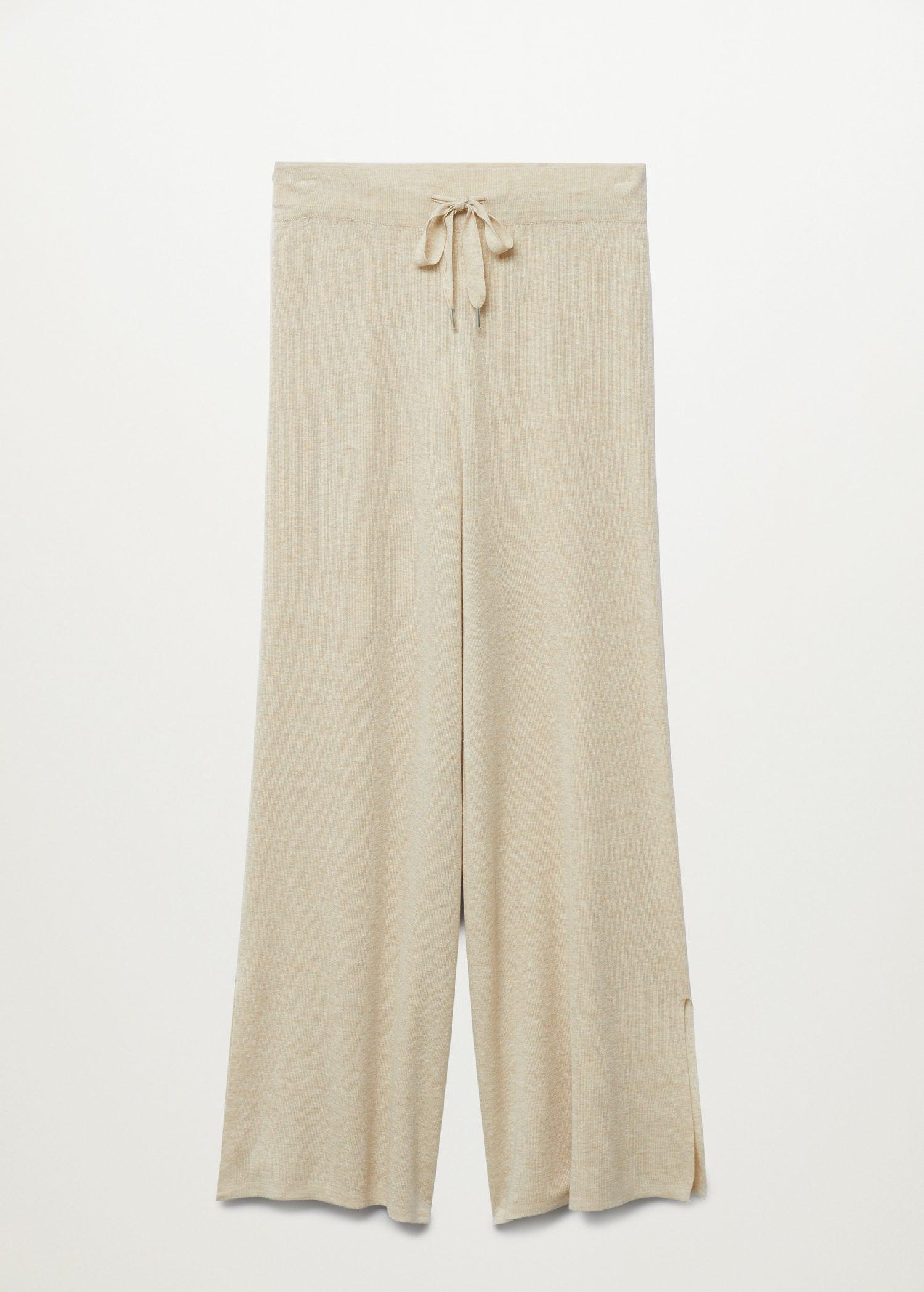 Knitted linen pants 8