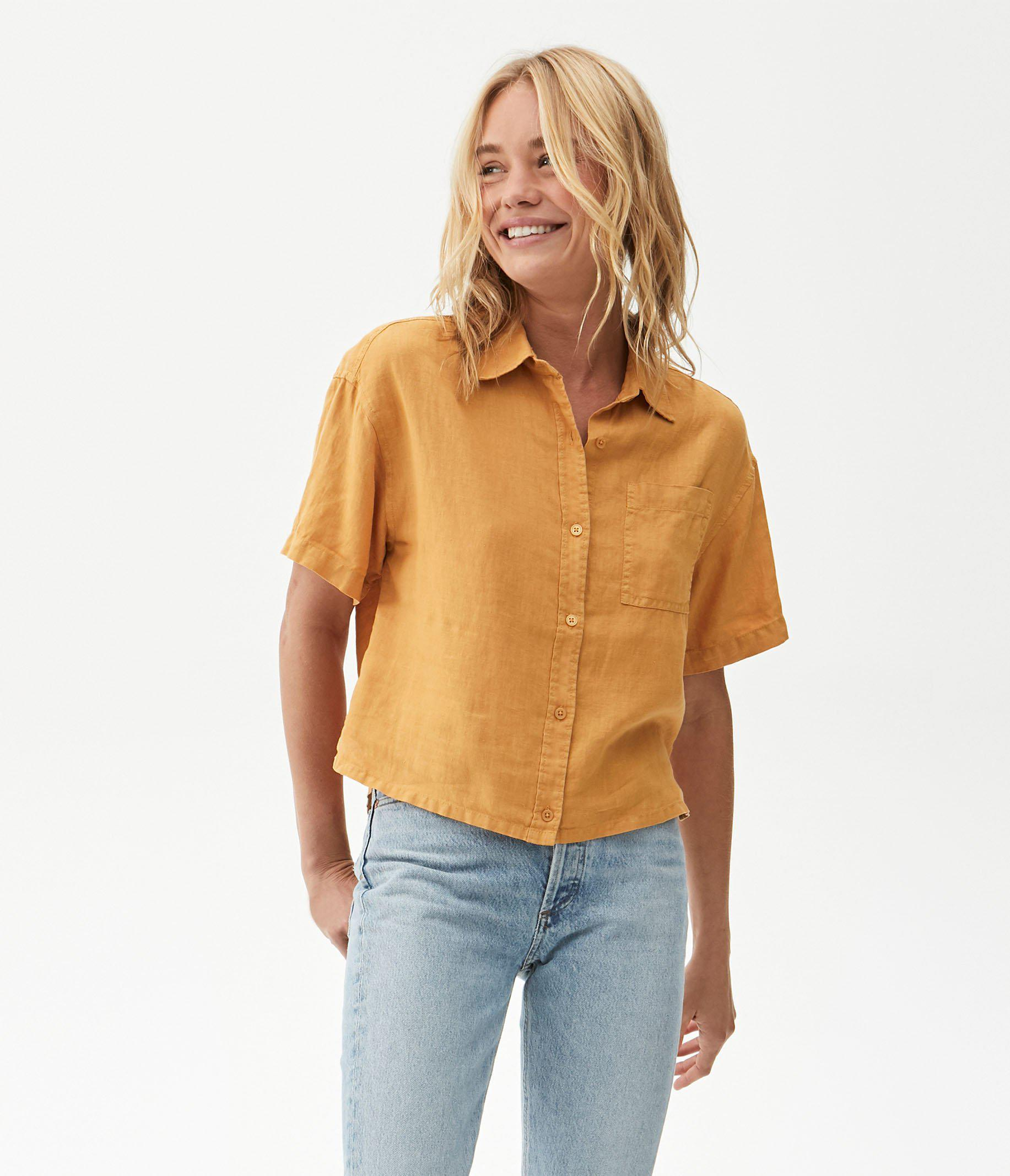 Penny Button Up Top 1