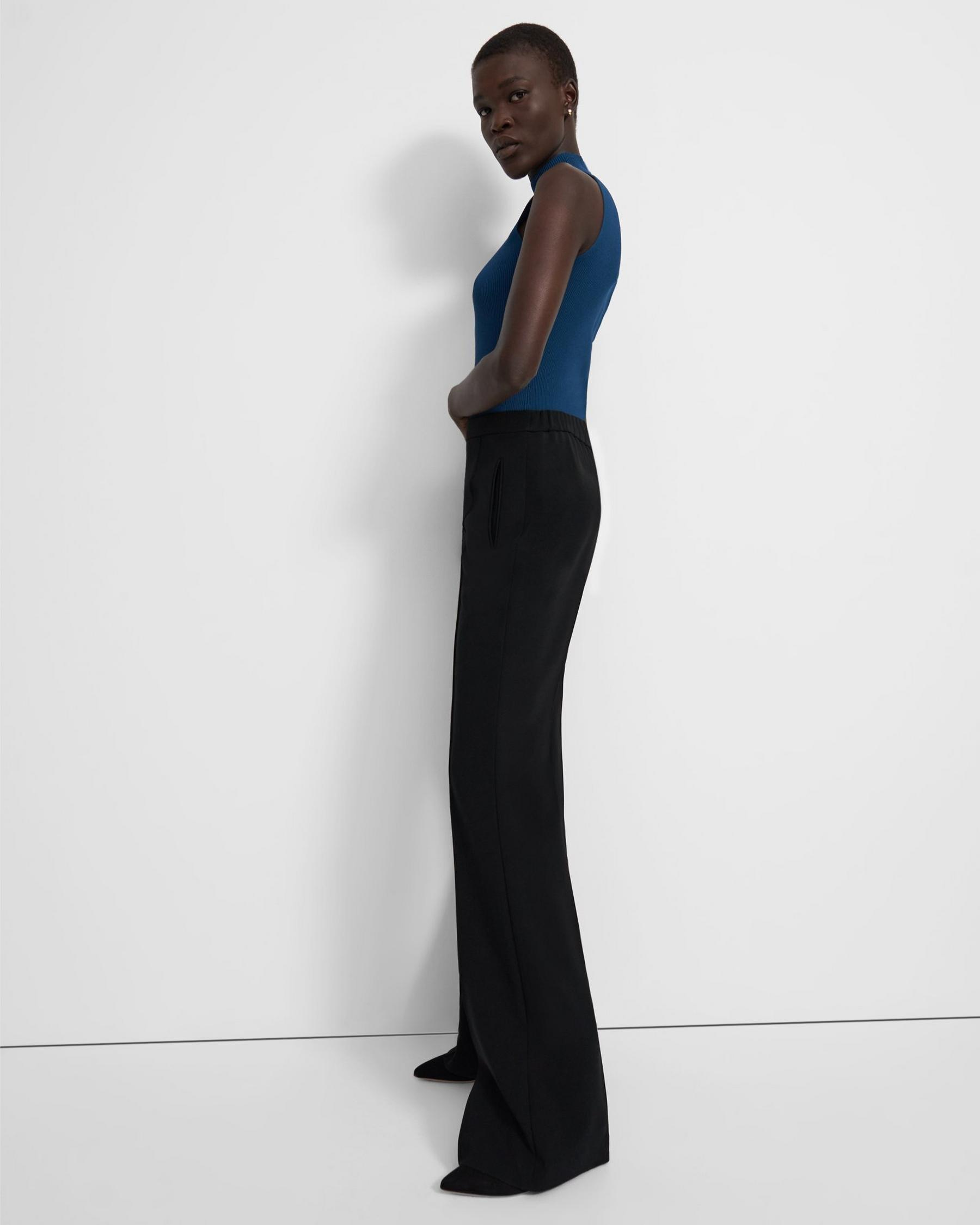Demitria Pull-On Pant in Crepe 3