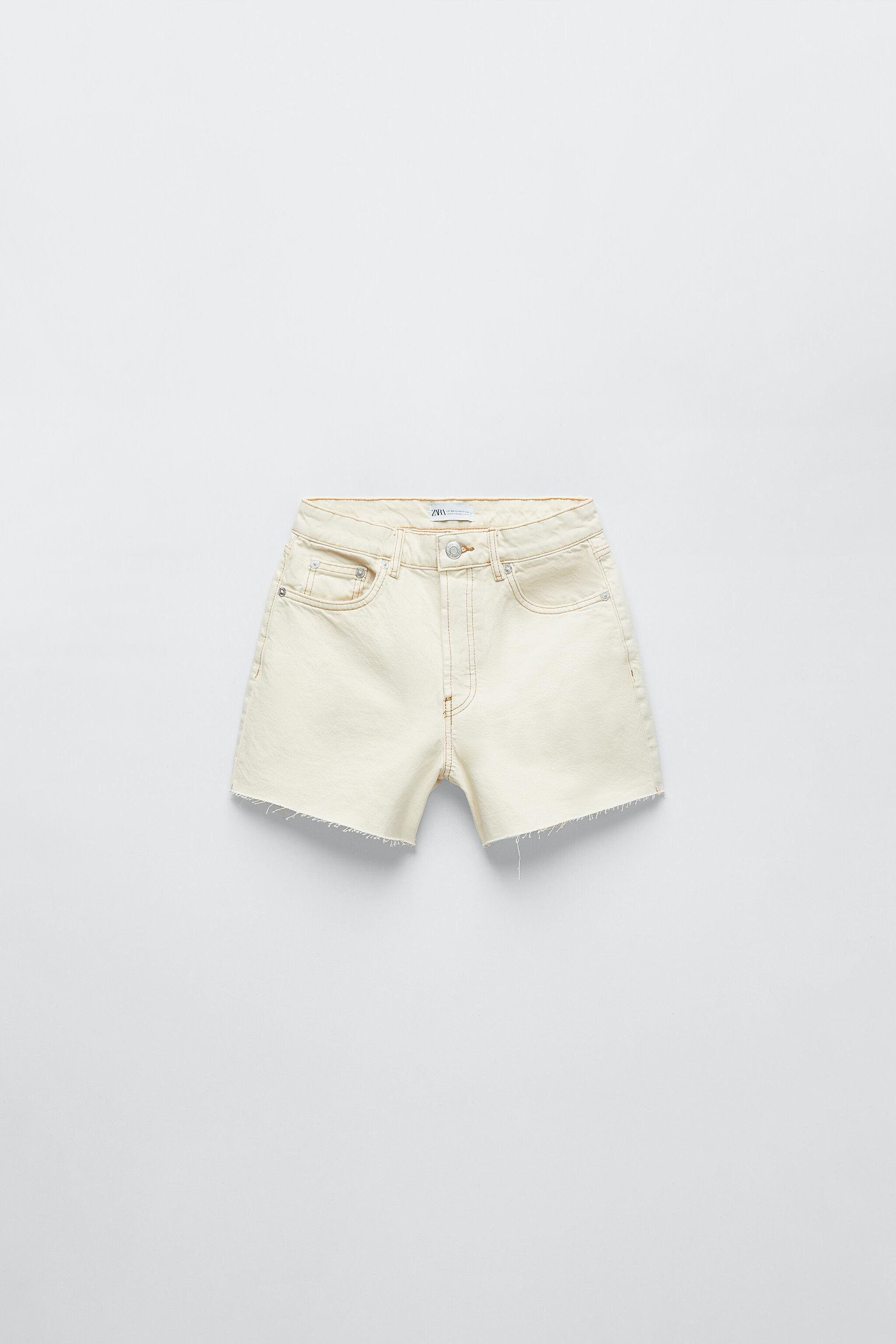SOLID COLOR STRAIGHT SHORTS 5