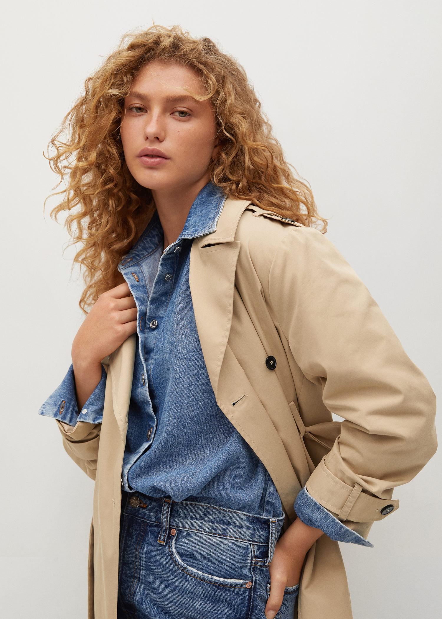 Classic cotton trench coat 3