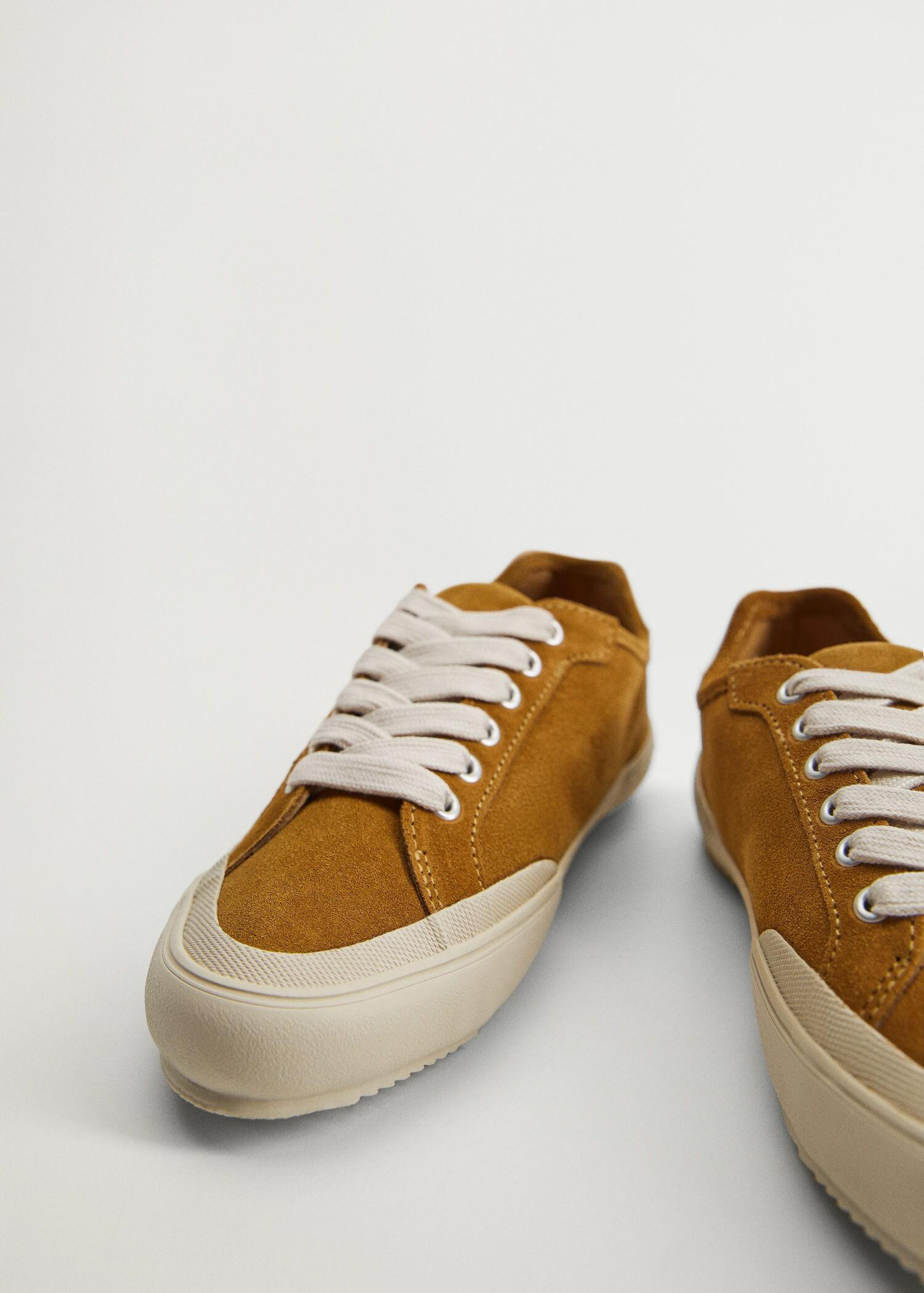 Leather sneakers 4