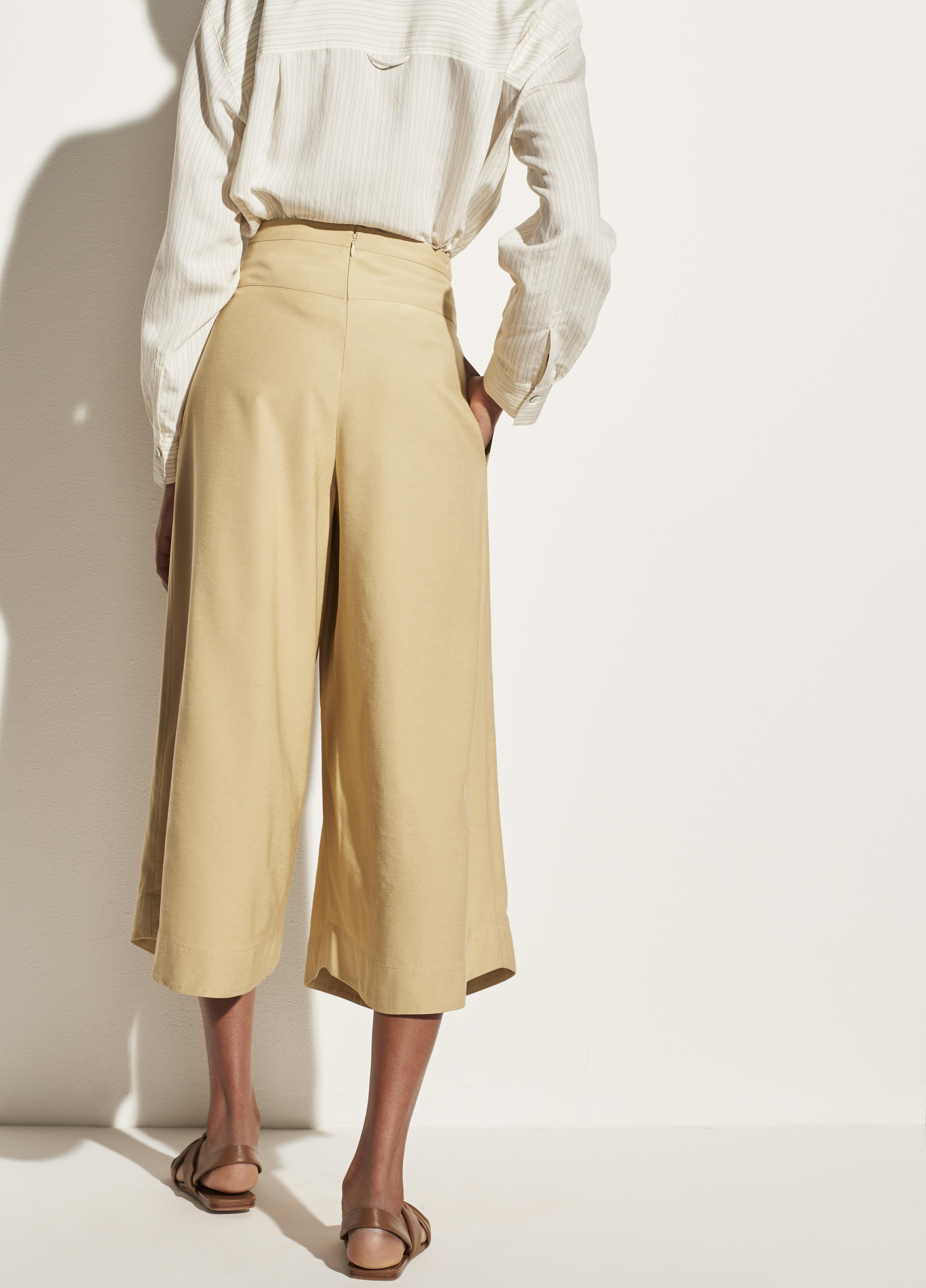 Belted Palazzo Culotte 3